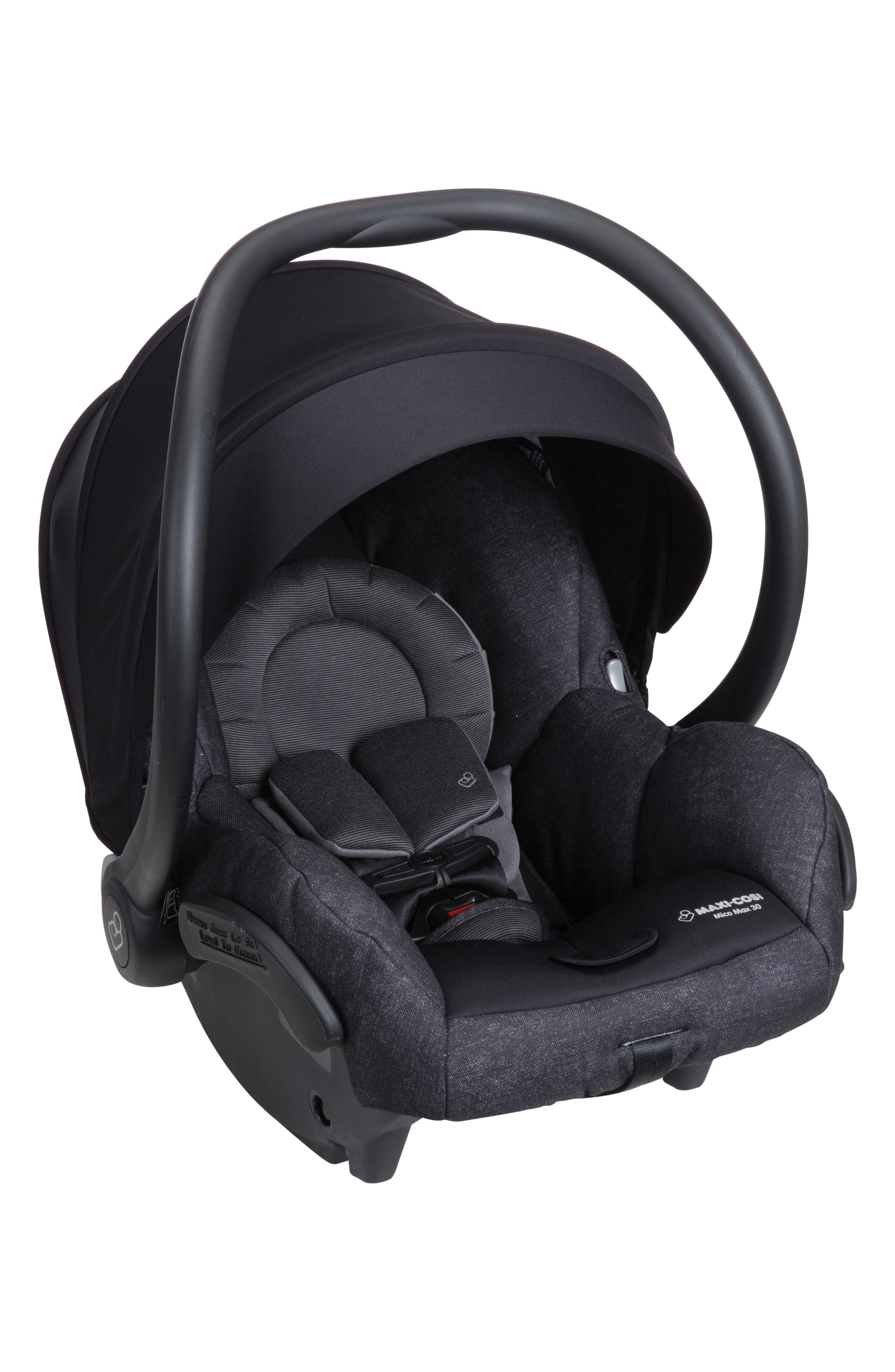 Mico Max 30 Nomad Collection Infant Car Seat,                             Alternate thumbnail 3, color,                             NOMAD BLACK