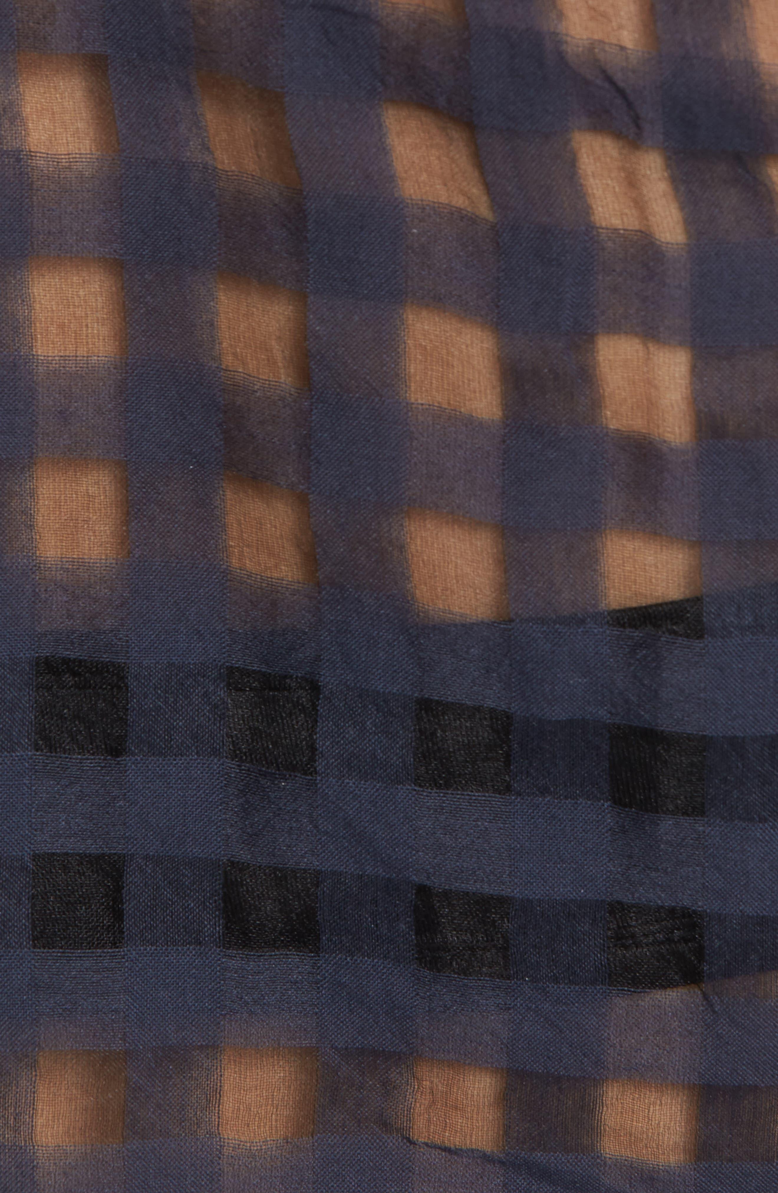 Kelsey Sheer Tie Front Shirt,                             Alternate thumbnail 5, color,                             438