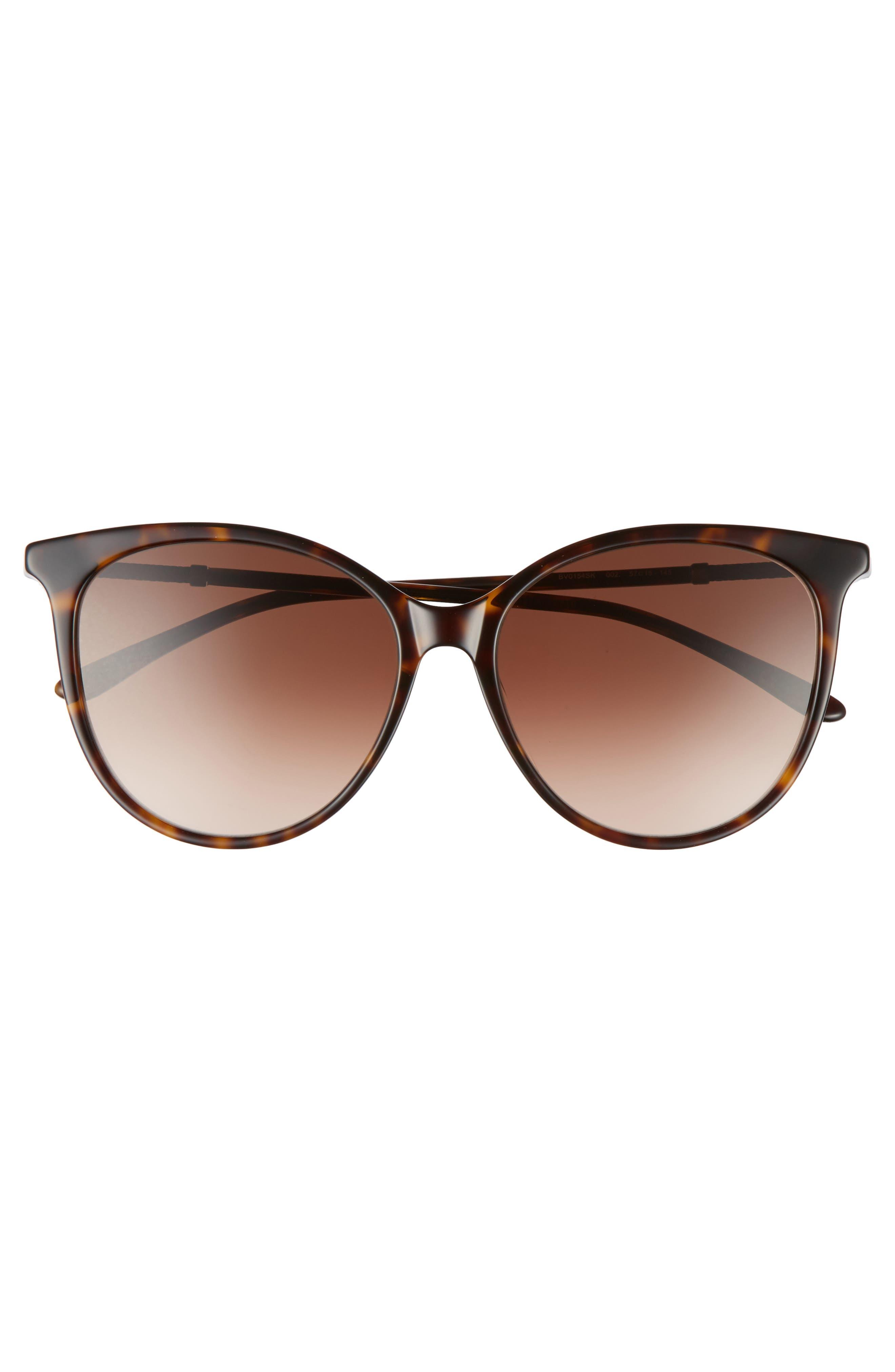 57mm Cat Eye Sunglasses,                             Alternate thumbnail 10, color,