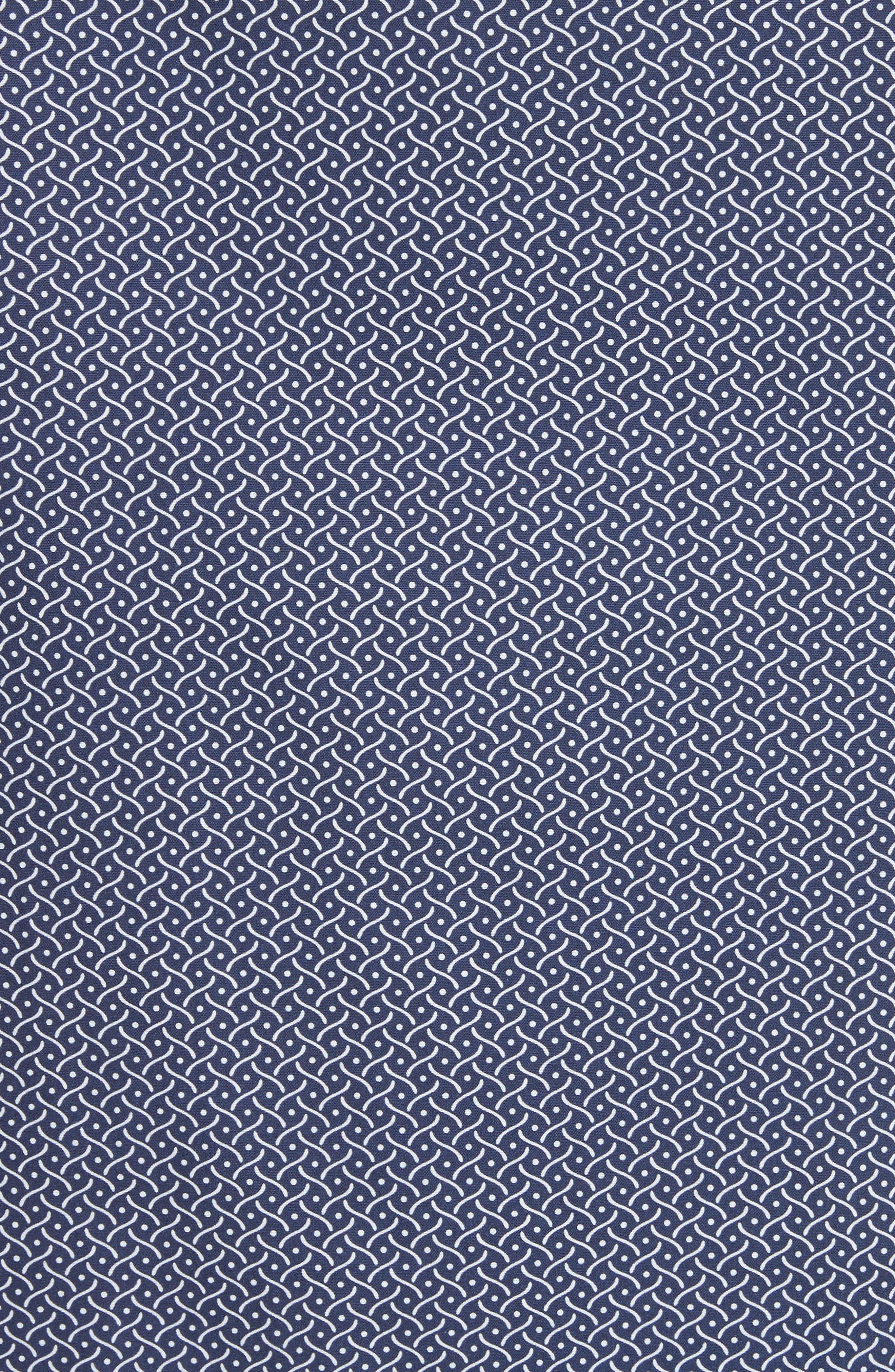 Fancy Leaf Print Sport Shirt,                             Alternate thumbnail 2, color,                             400