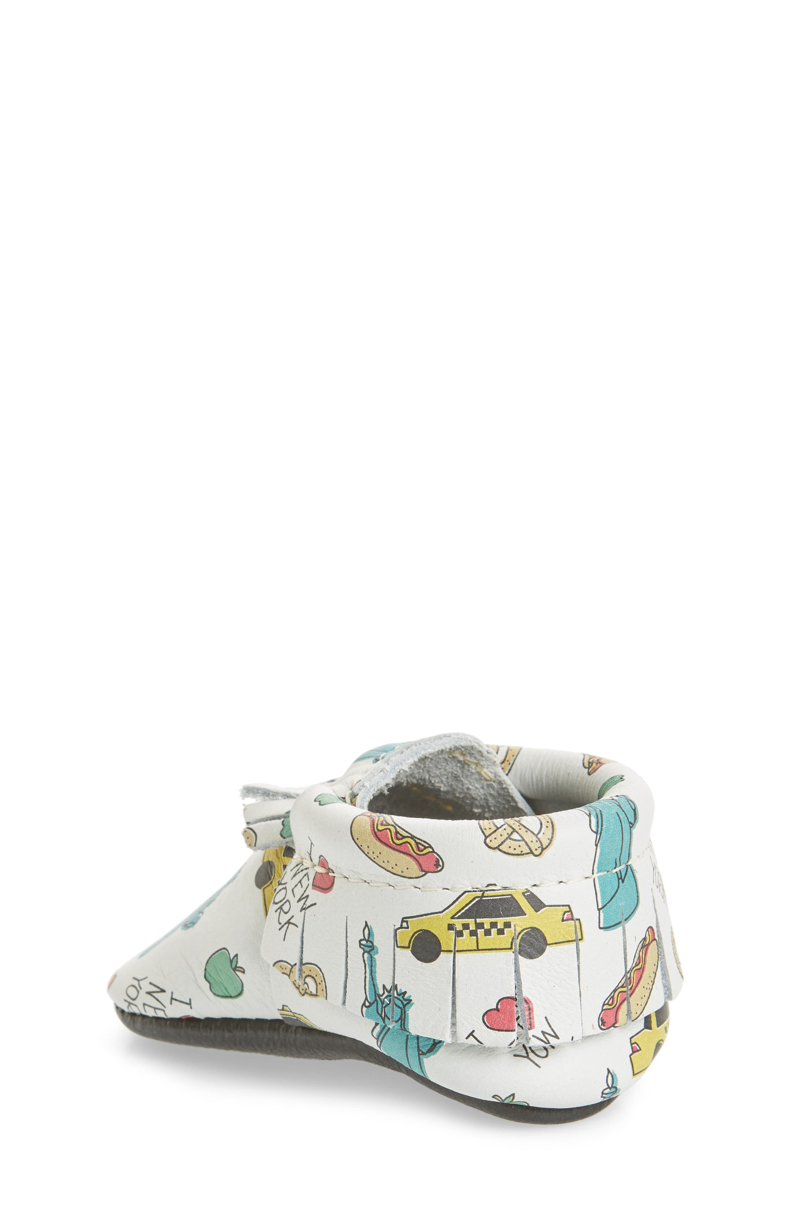 Big Apple Moccasin Bootie,                             Alternate thumbnail 2, color,                             PRINT LEATHER