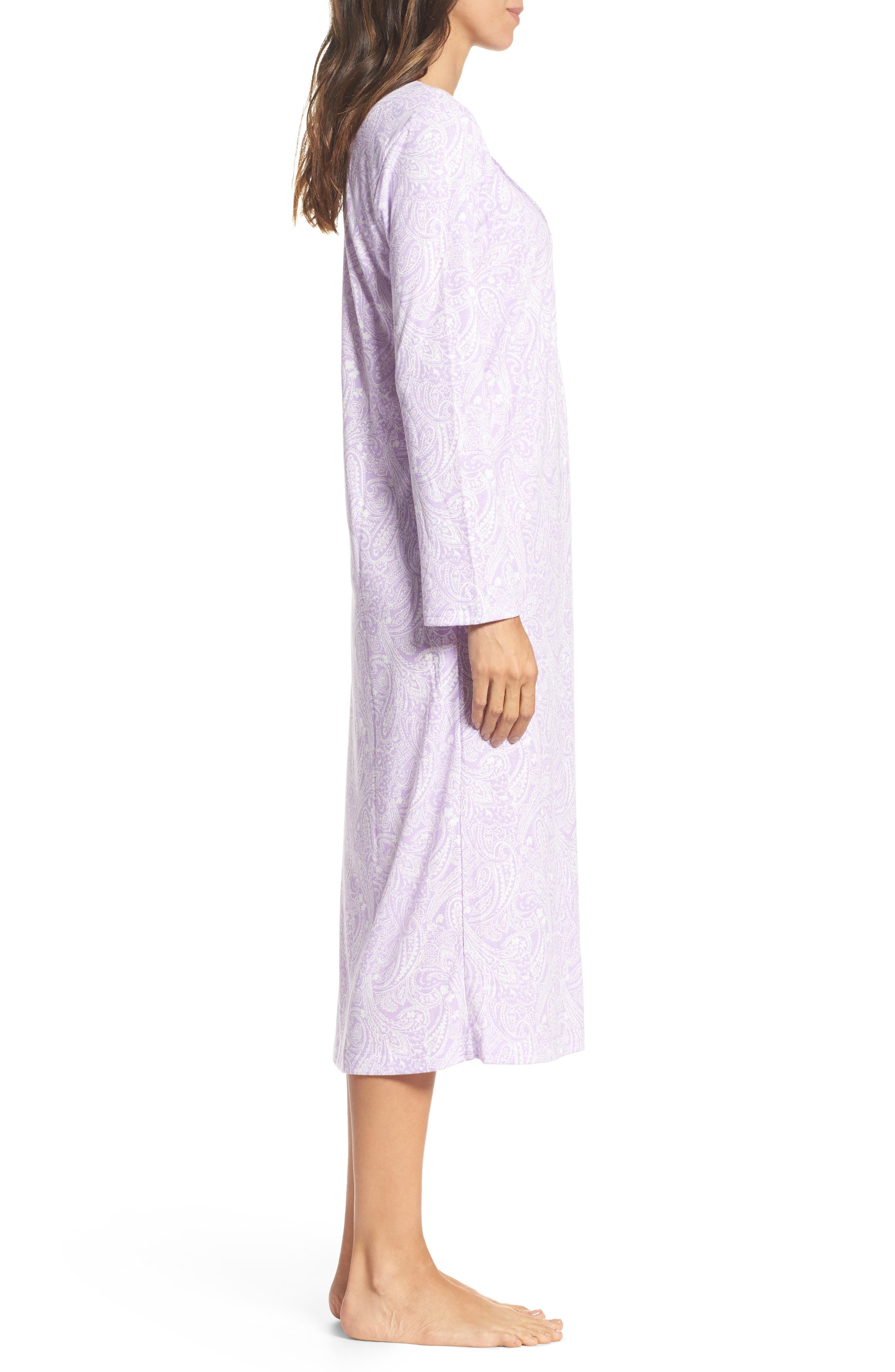 Long Nightgown,                             Alternate thumbnail 3, color,                             575
