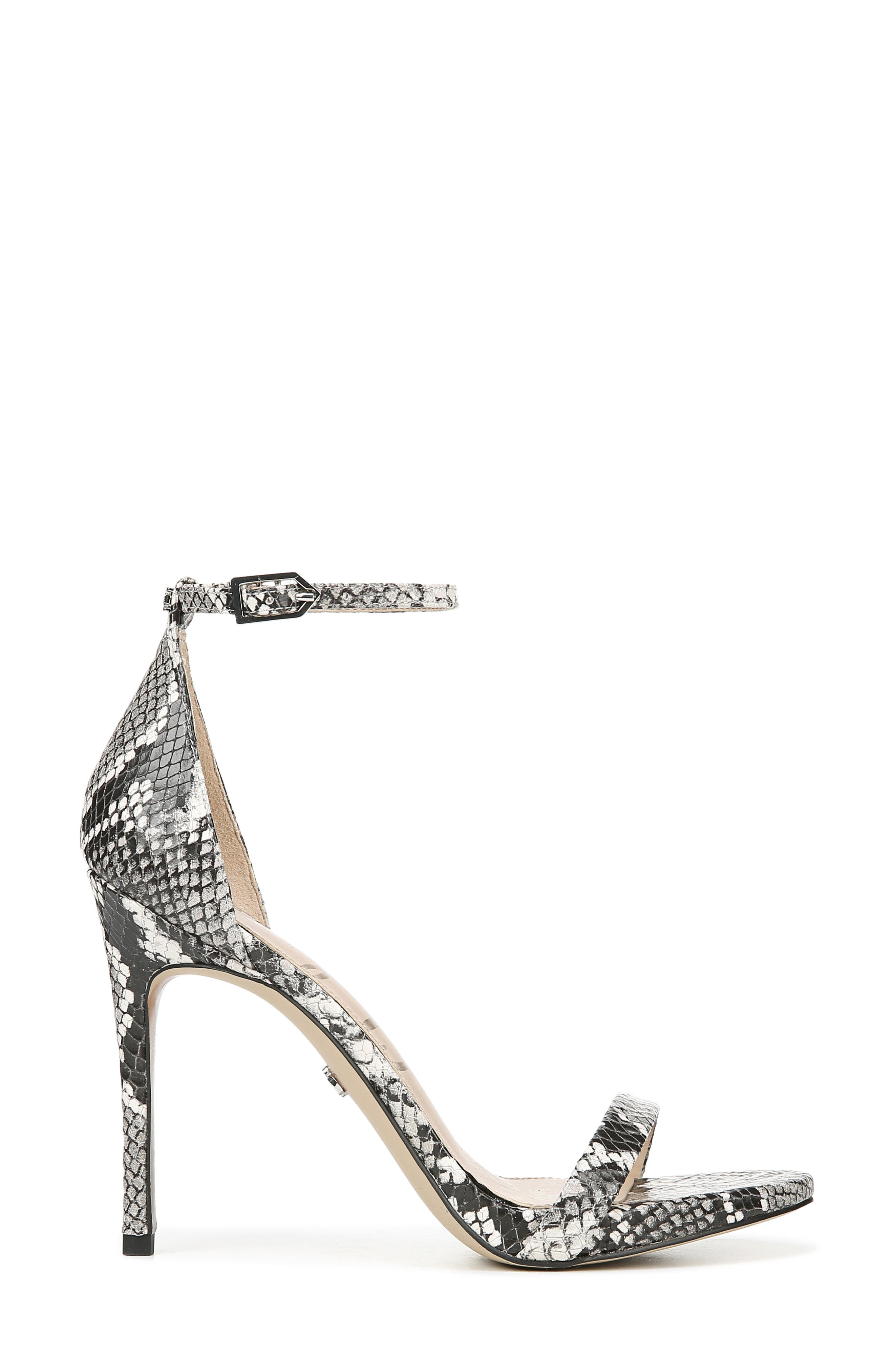 Ariella Ankle Strap Sandal,                             Alternate thumbnail 3, color,                             005