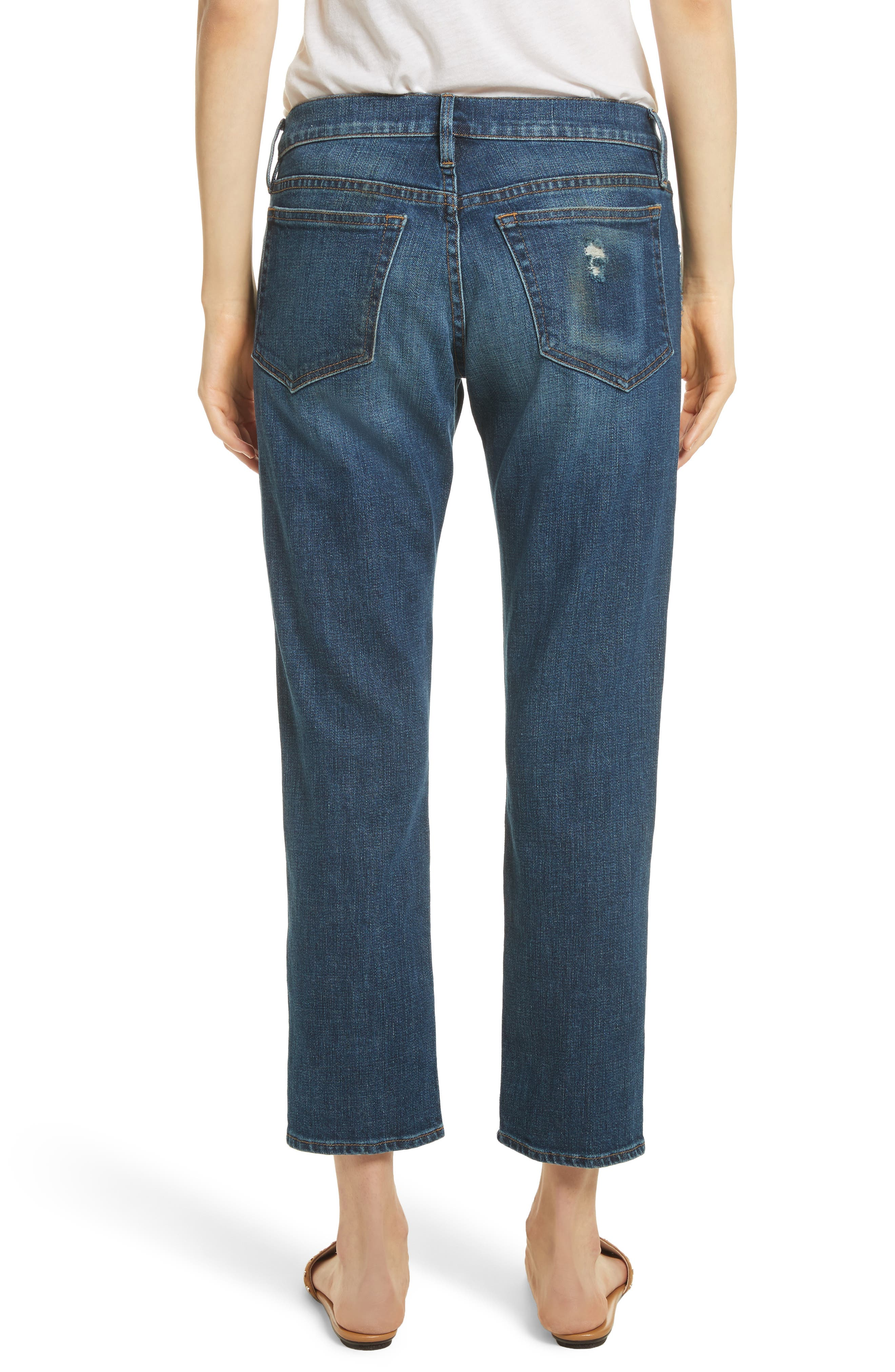 Straight Leg Jeans,                             Alternate thumbnail 2, color,
