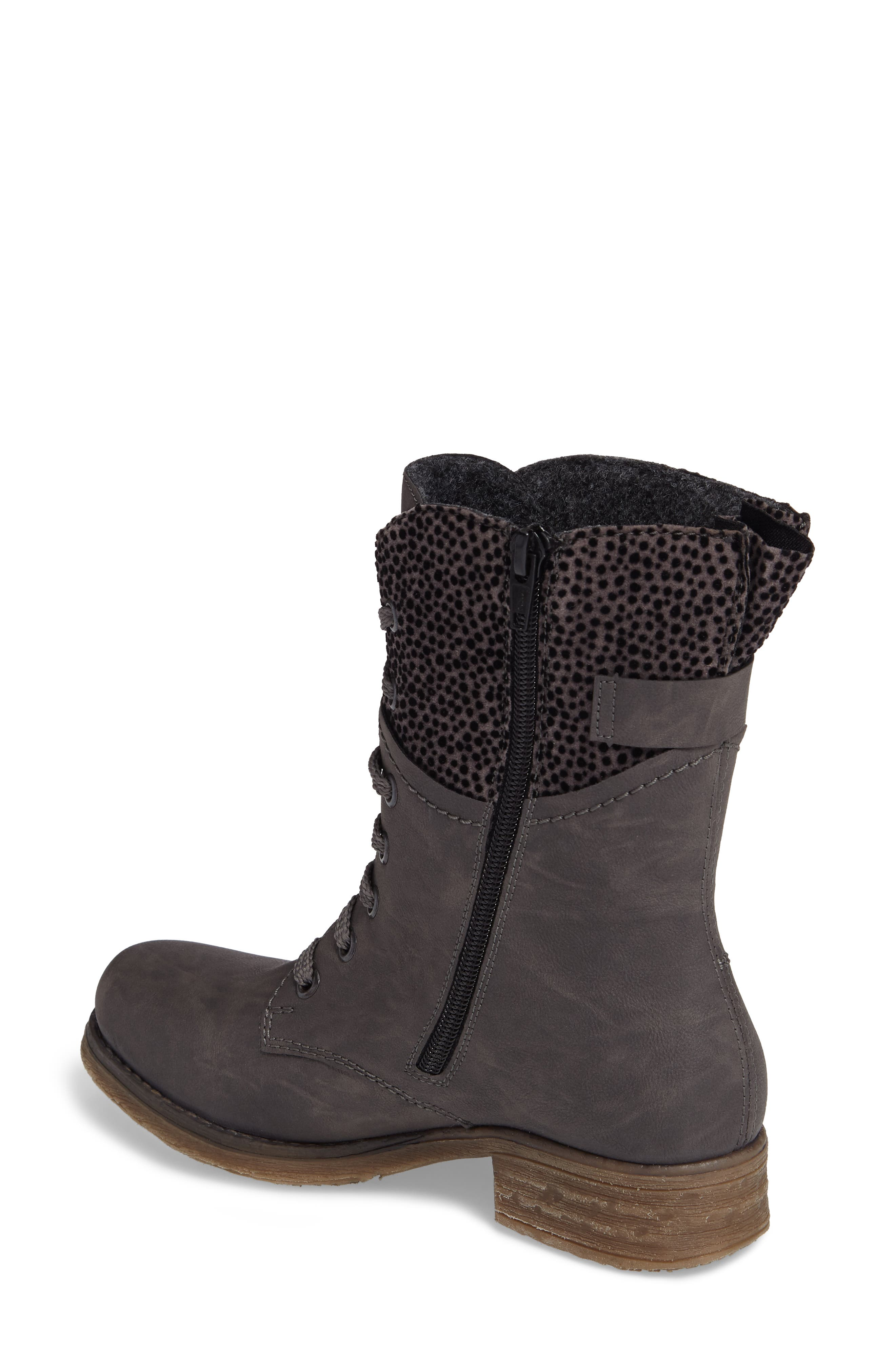 'Fee 04' Lace-Up Boot,                             Alternate thumbnail 2, color,                             FUMO FAUX LEATHER