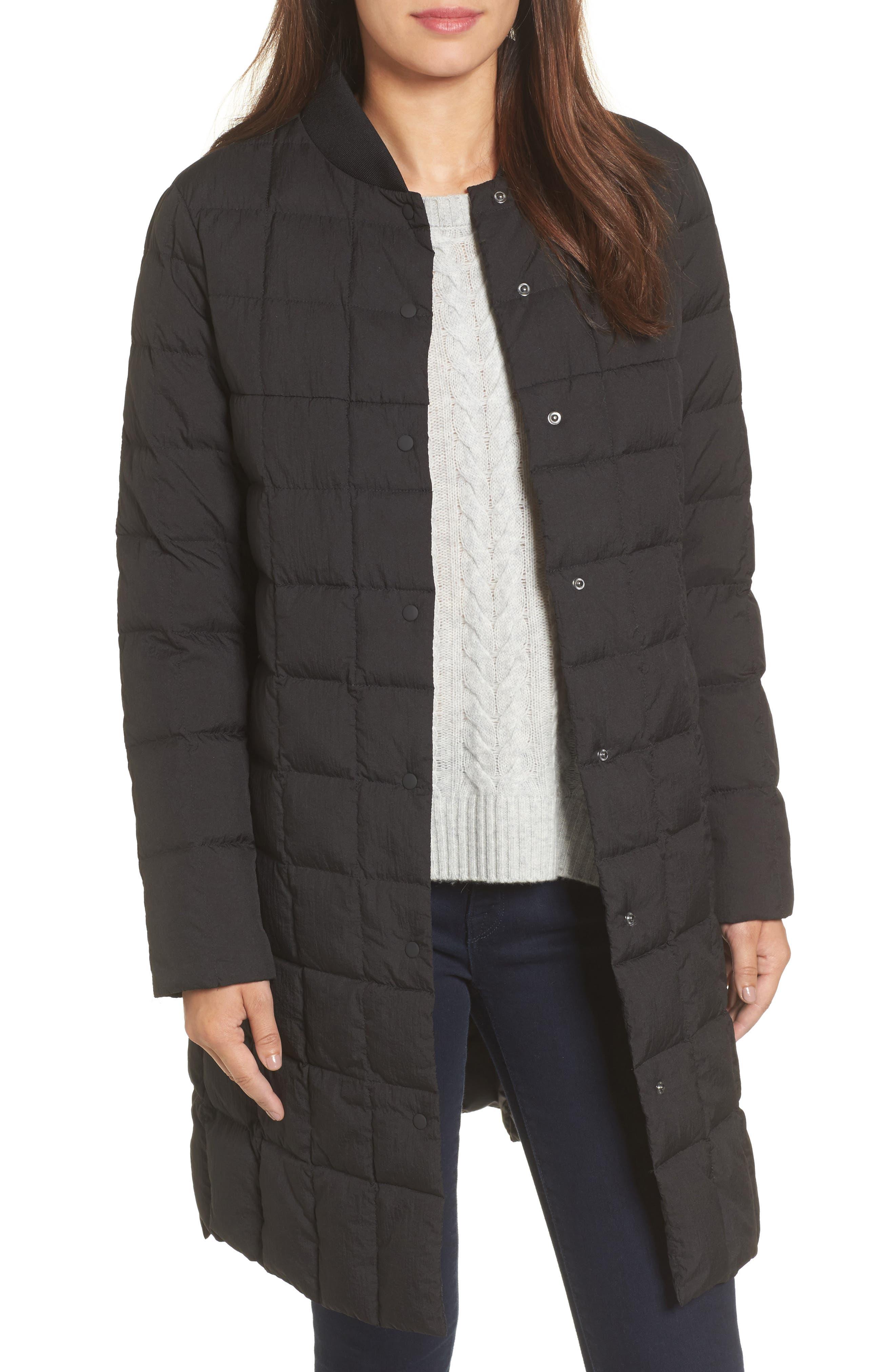 Kensley Lightweight Down Coat,                             Main thumbnail 1, color,                             001