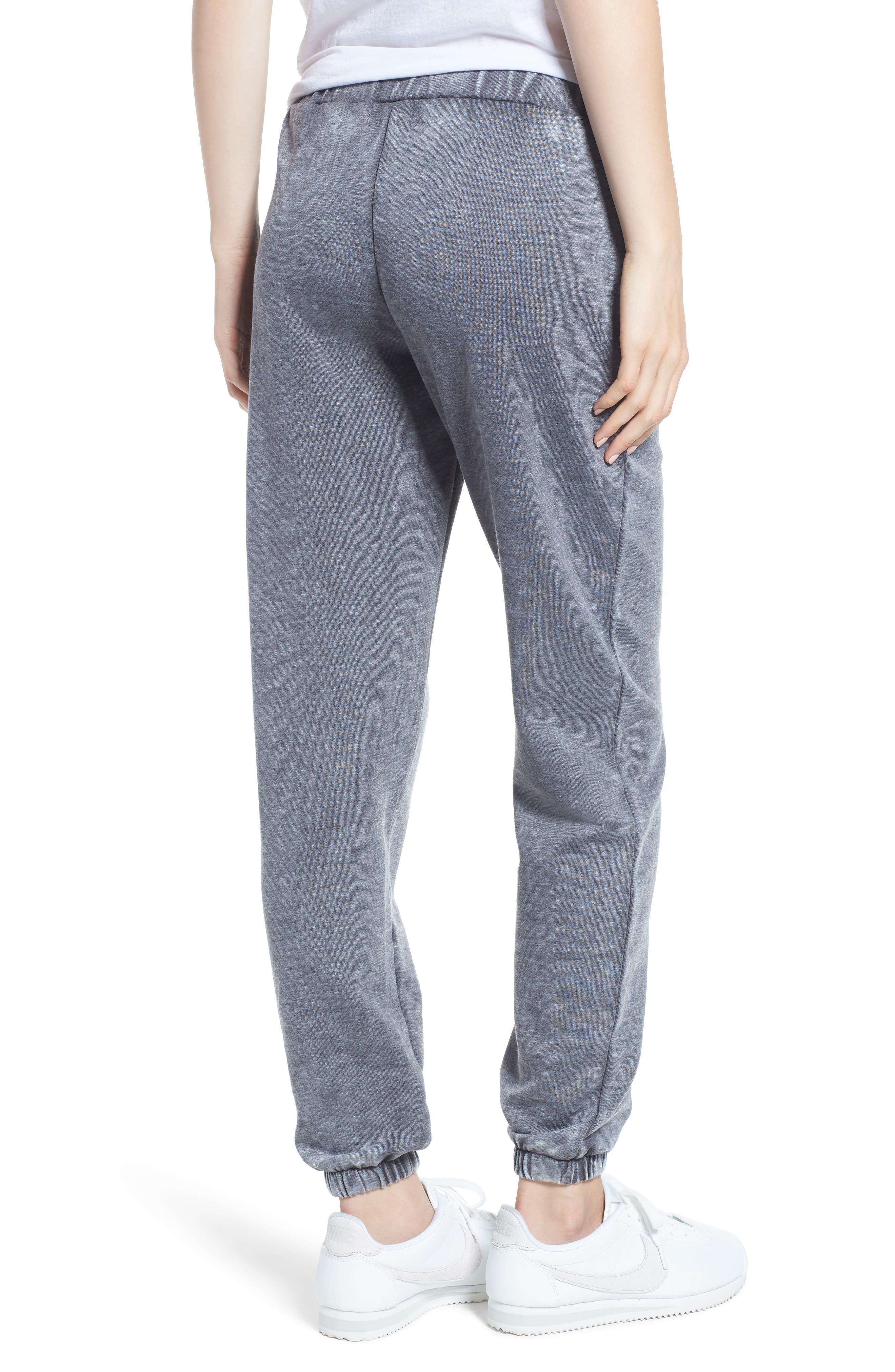 Riya Fashion Fleece Sweatpants,                             Alternate thumbnail 2, color,                             020
