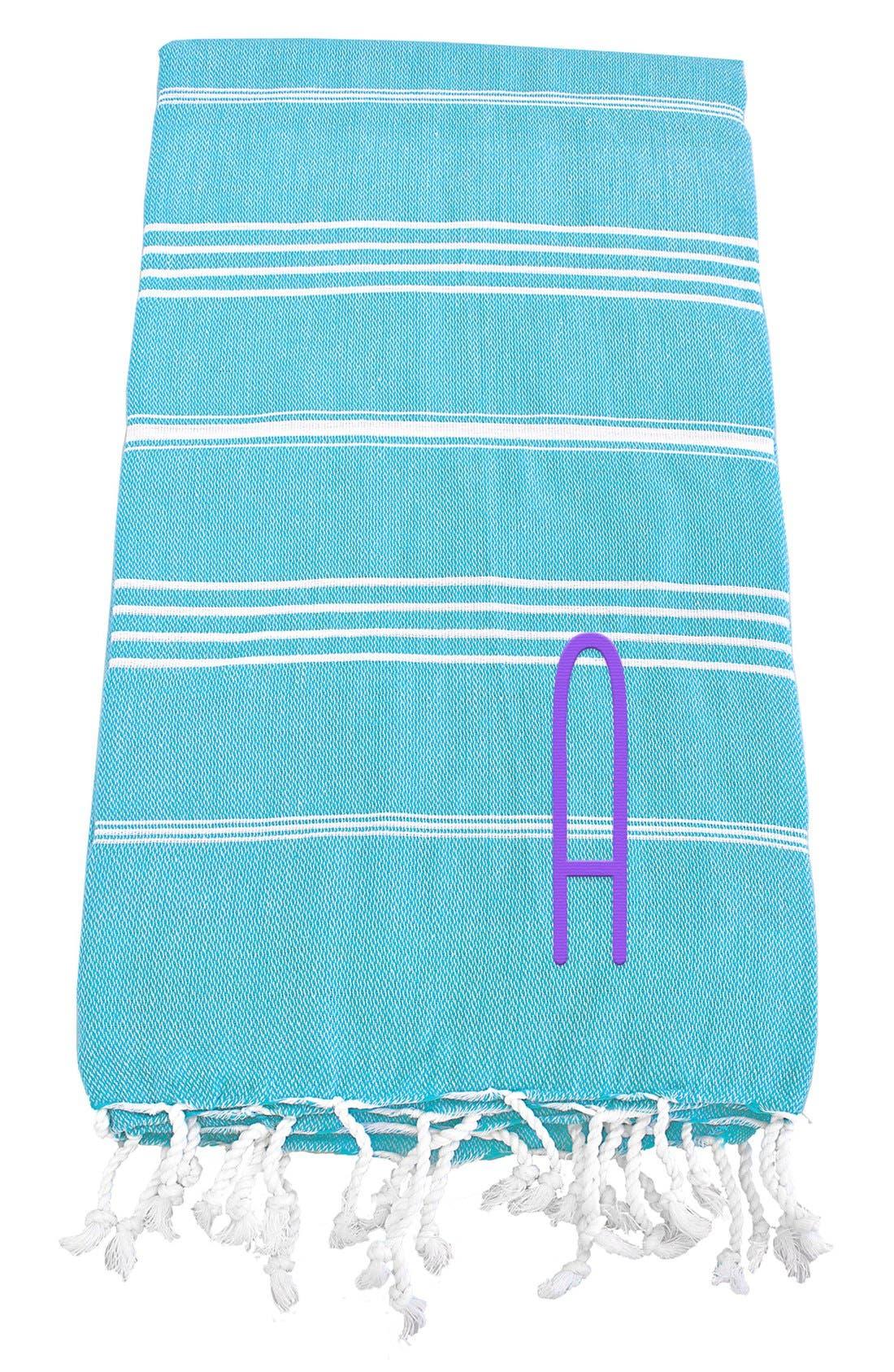 Monogram Turkish Cotton Towel,                             Main thumbnail 84, color,