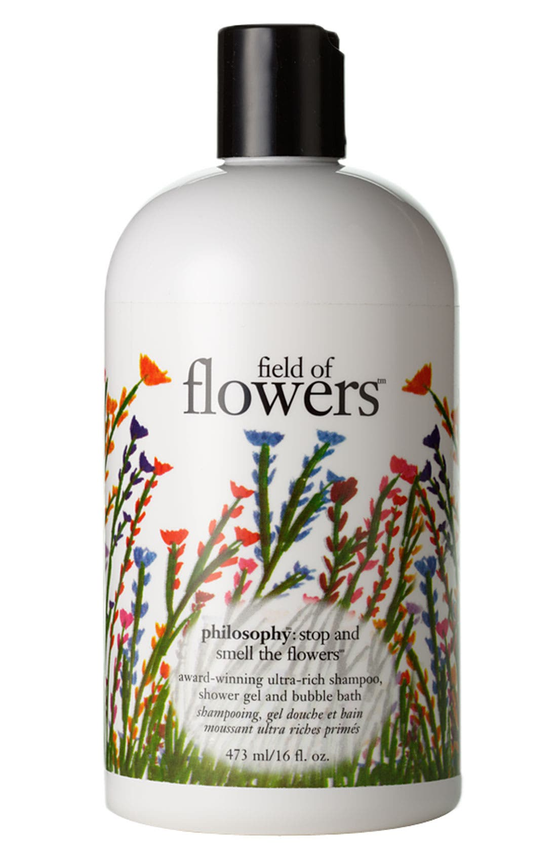 'field of flowers' shampoo, shower gel and bubble bath,                             Main thumbnail 1, color,                             000