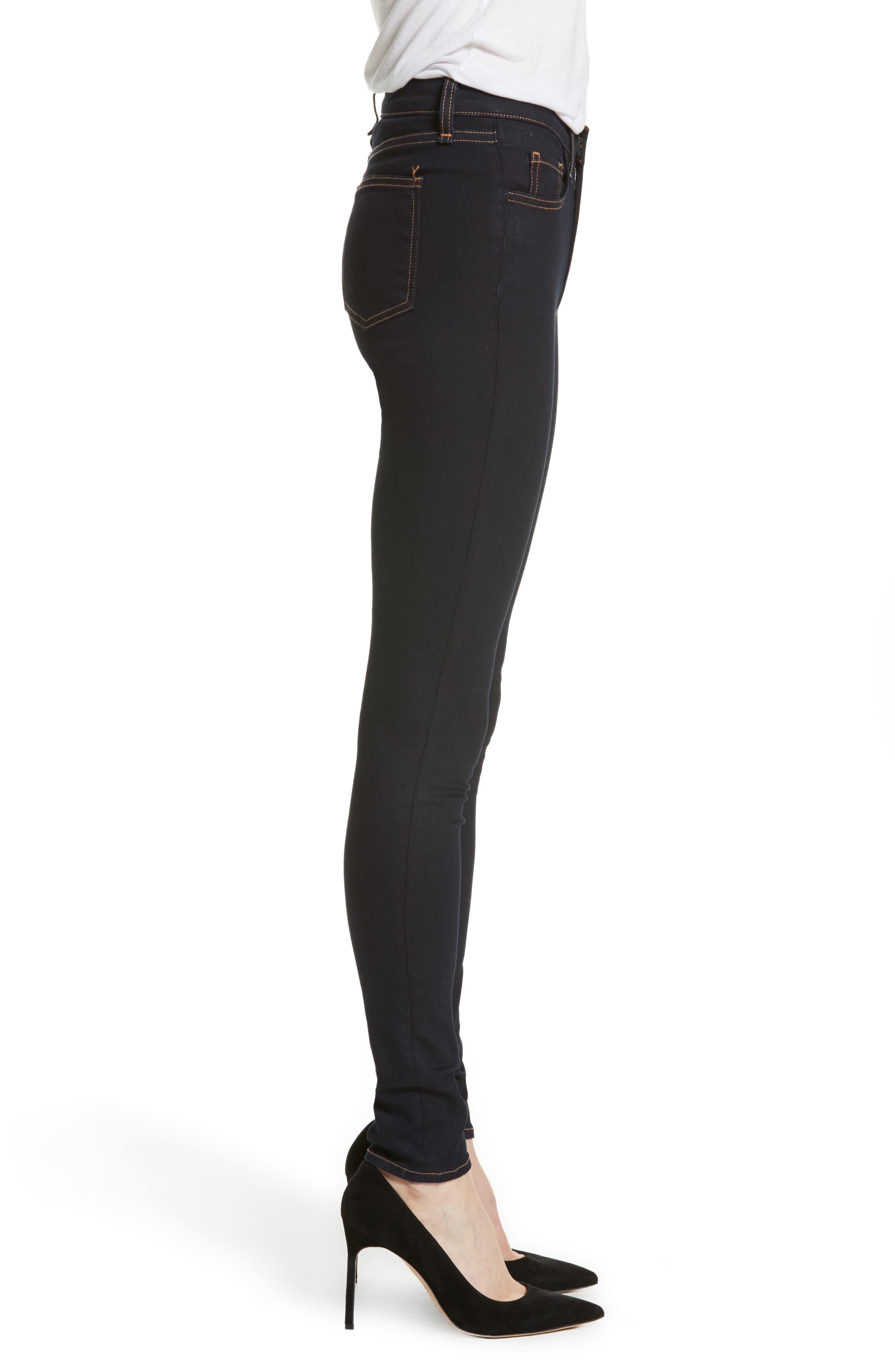 Kate Skinny Jeans,                             Alternate thumbnail 3, color,                             455