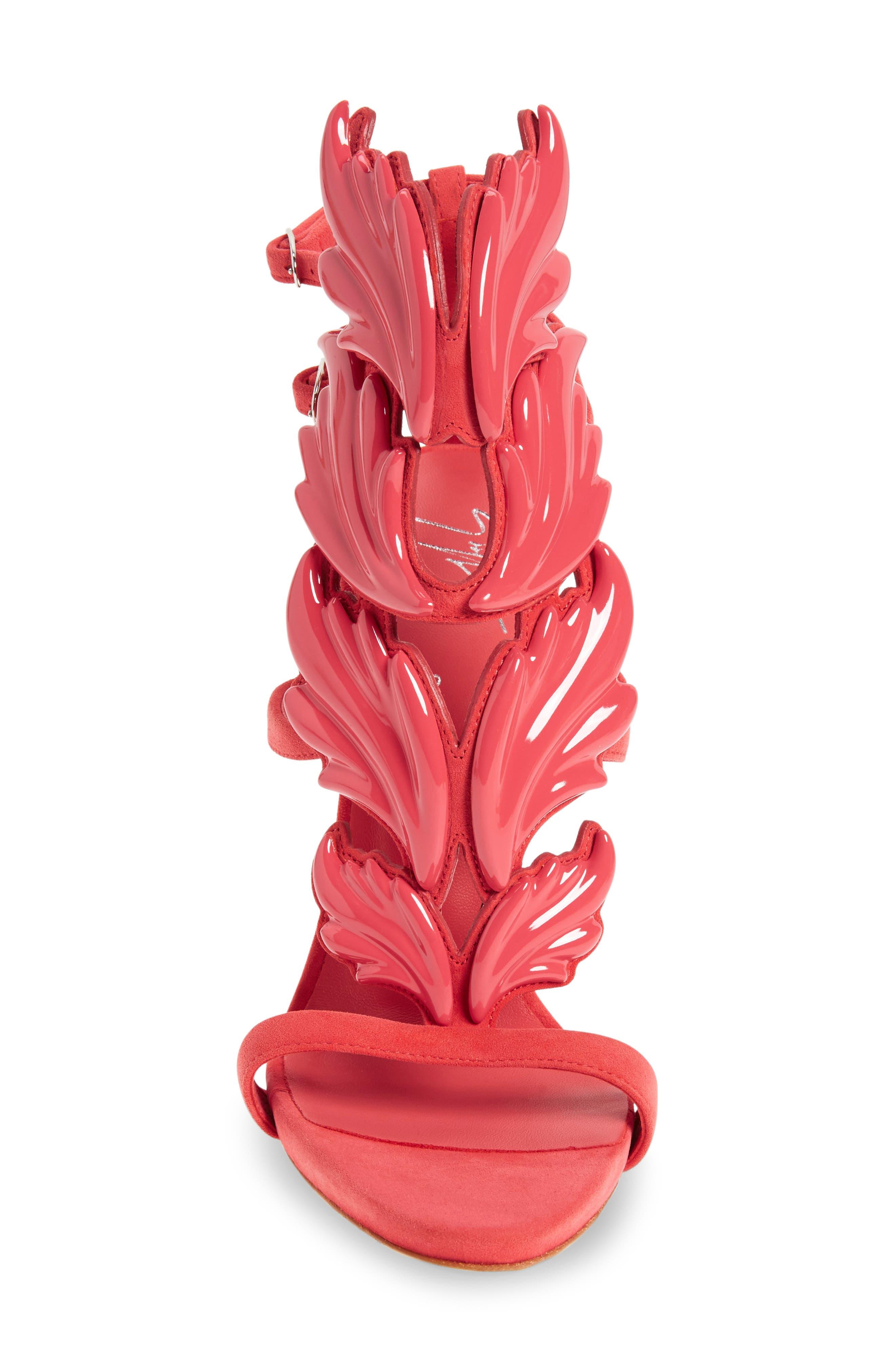 'Coline' Winged Sandal,                             Alternate thumbnail 8, color,