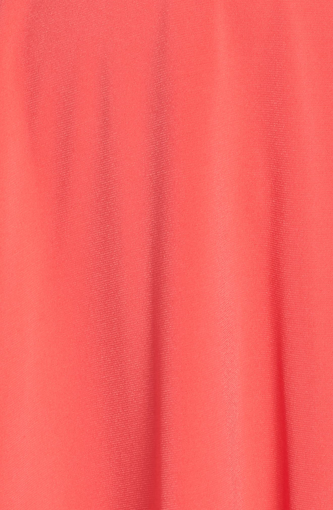 Split Shoulder High/Low Knit Dress,                             Alternate thumbnail 5, color,                             660