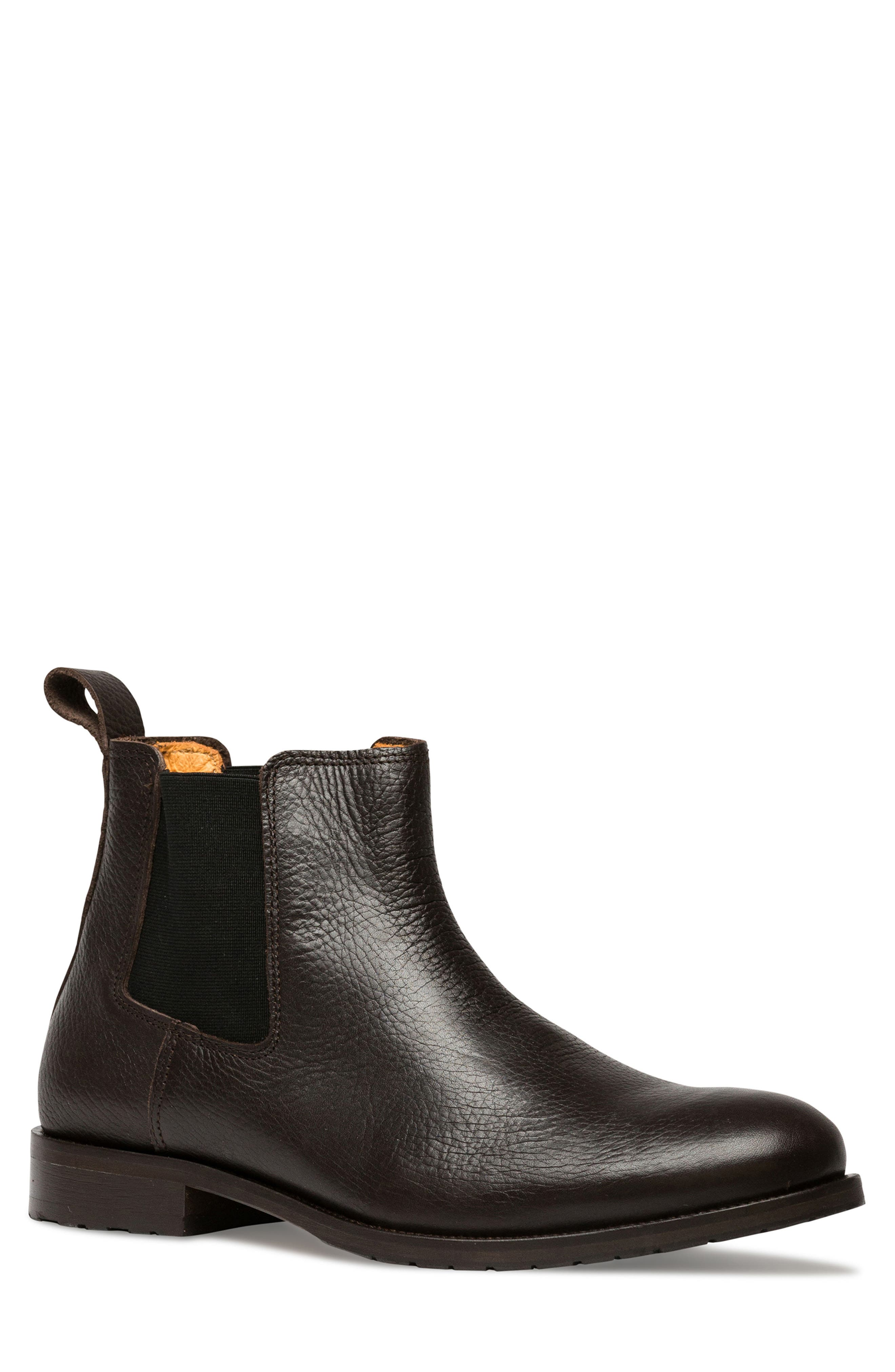 Westholme Chelsea Boot,                             Main thumbnail 1, color,                             CHOCOLATE LEATHER