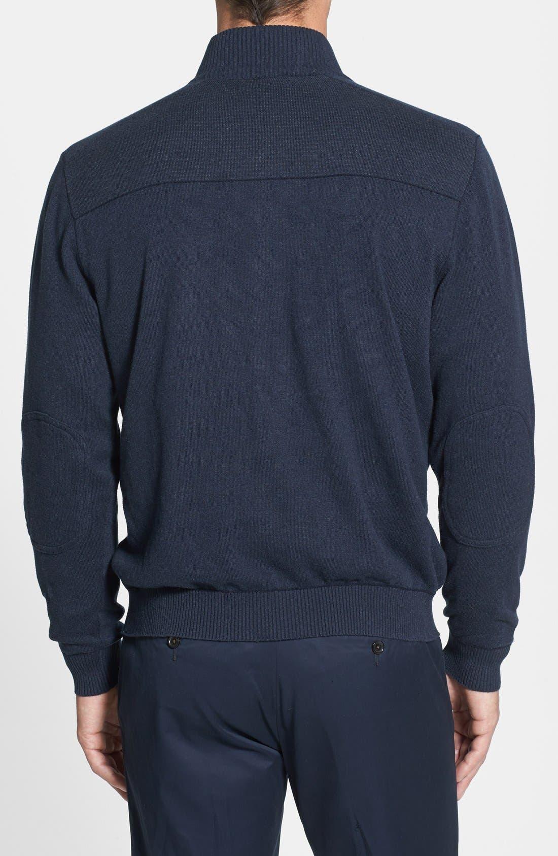 CUTTER & BUCK,                             Broadview Half Zip Sweater,                             Alternate thumbnail 2, color,                             480