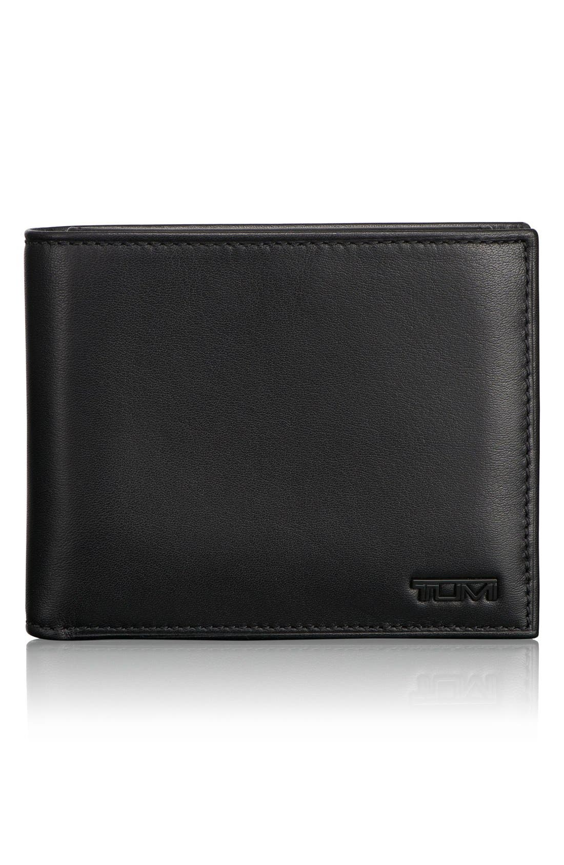 Delta Global - ID Lock<sup>™</sup> Shielded Removable Passcase ID Wallet,                         Main,                         color, BLACK