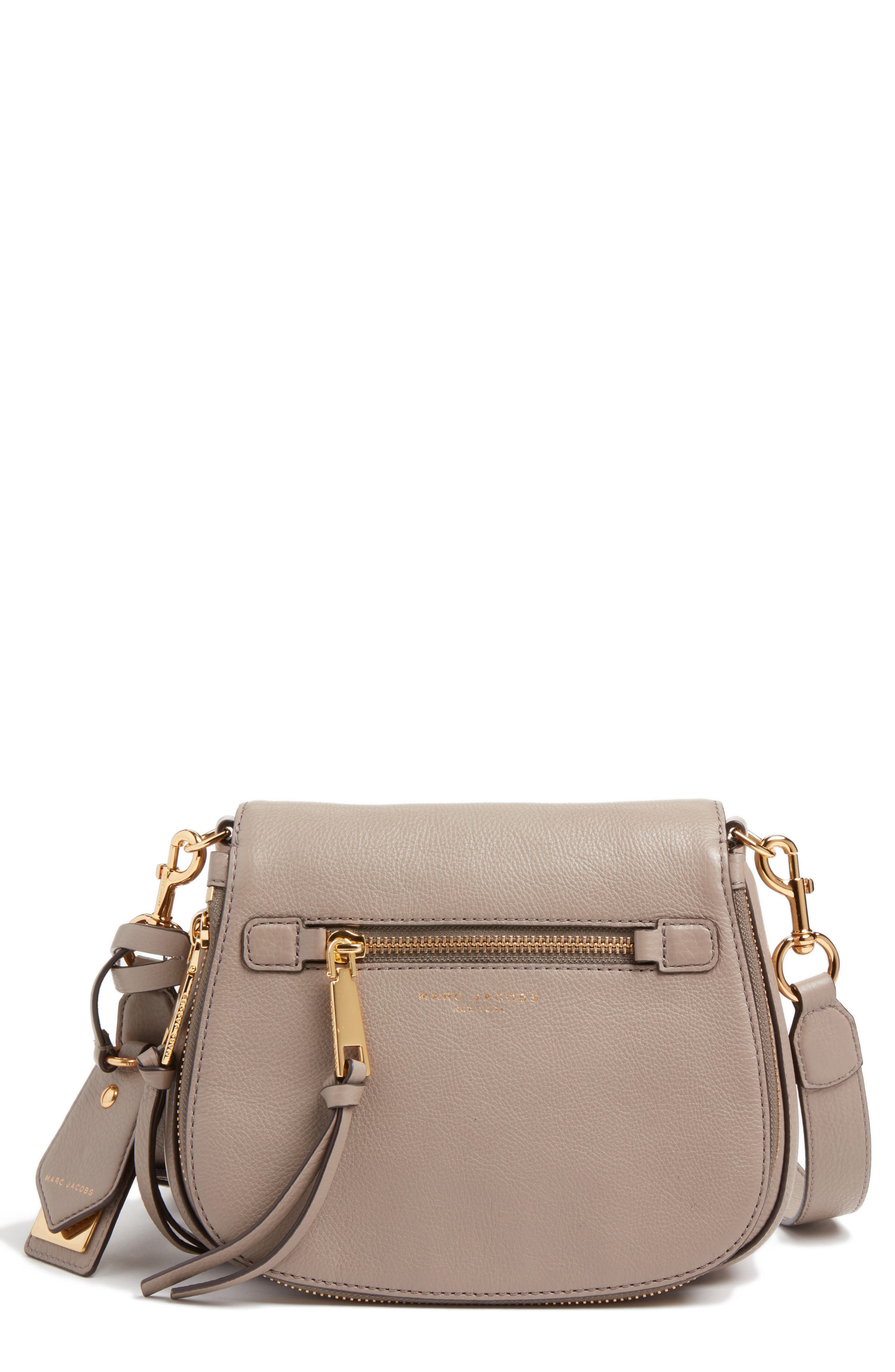 Small Recruit Nomad Pebbled Leather Crossbody Bag,                             Alternate thumbnail 20, color,