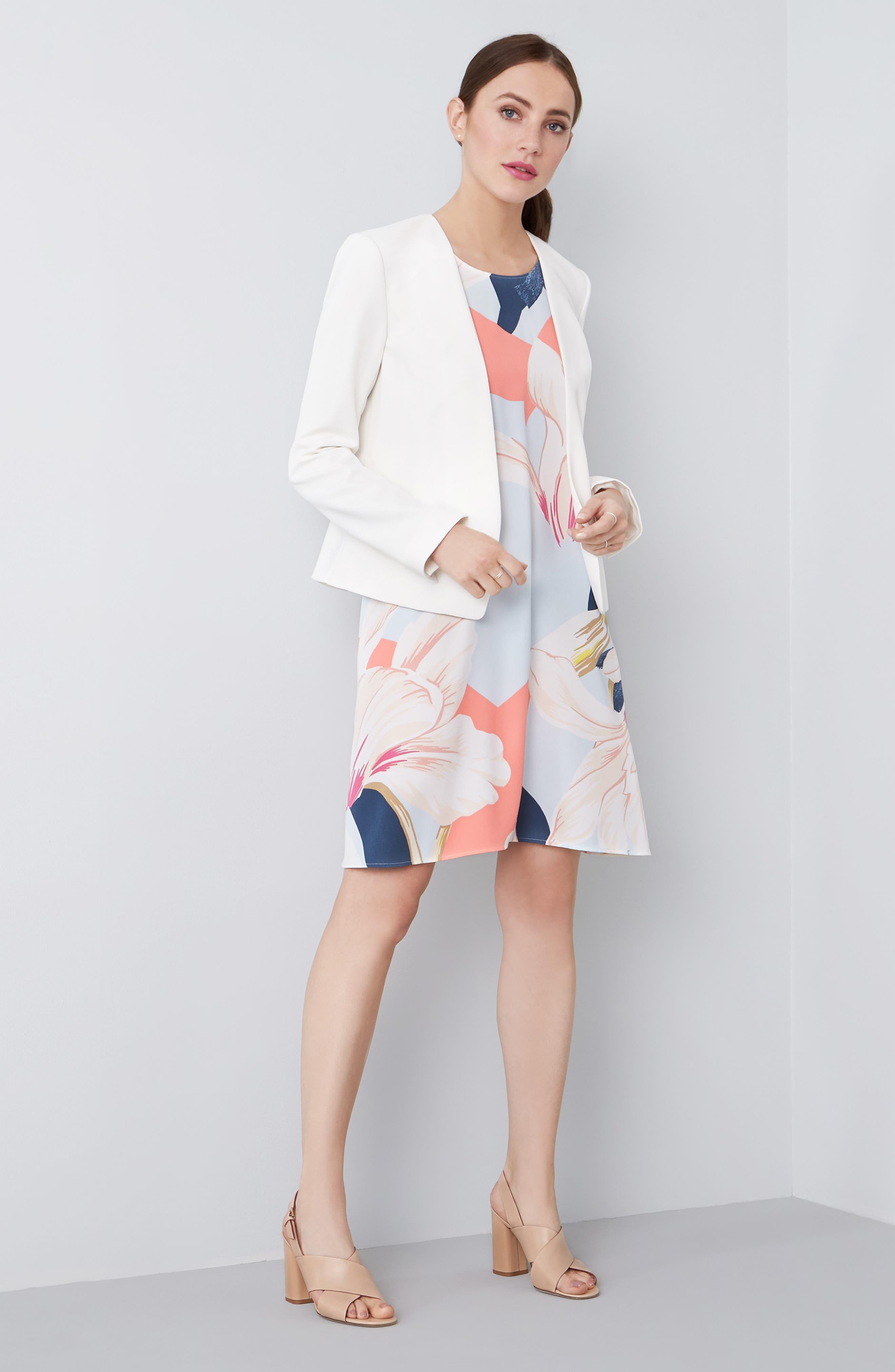 A-Line Dress,                             Alternate thumbnail 134, color,