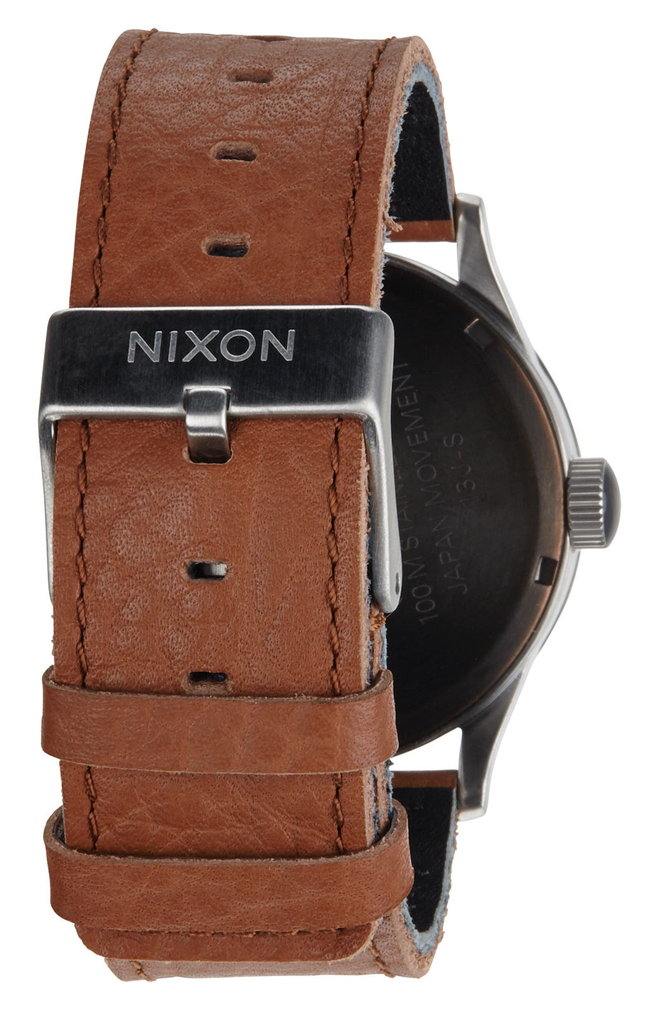 The Sentry Leather Strap Watch, 42mm,                             Alternate thumbnail 85, color,