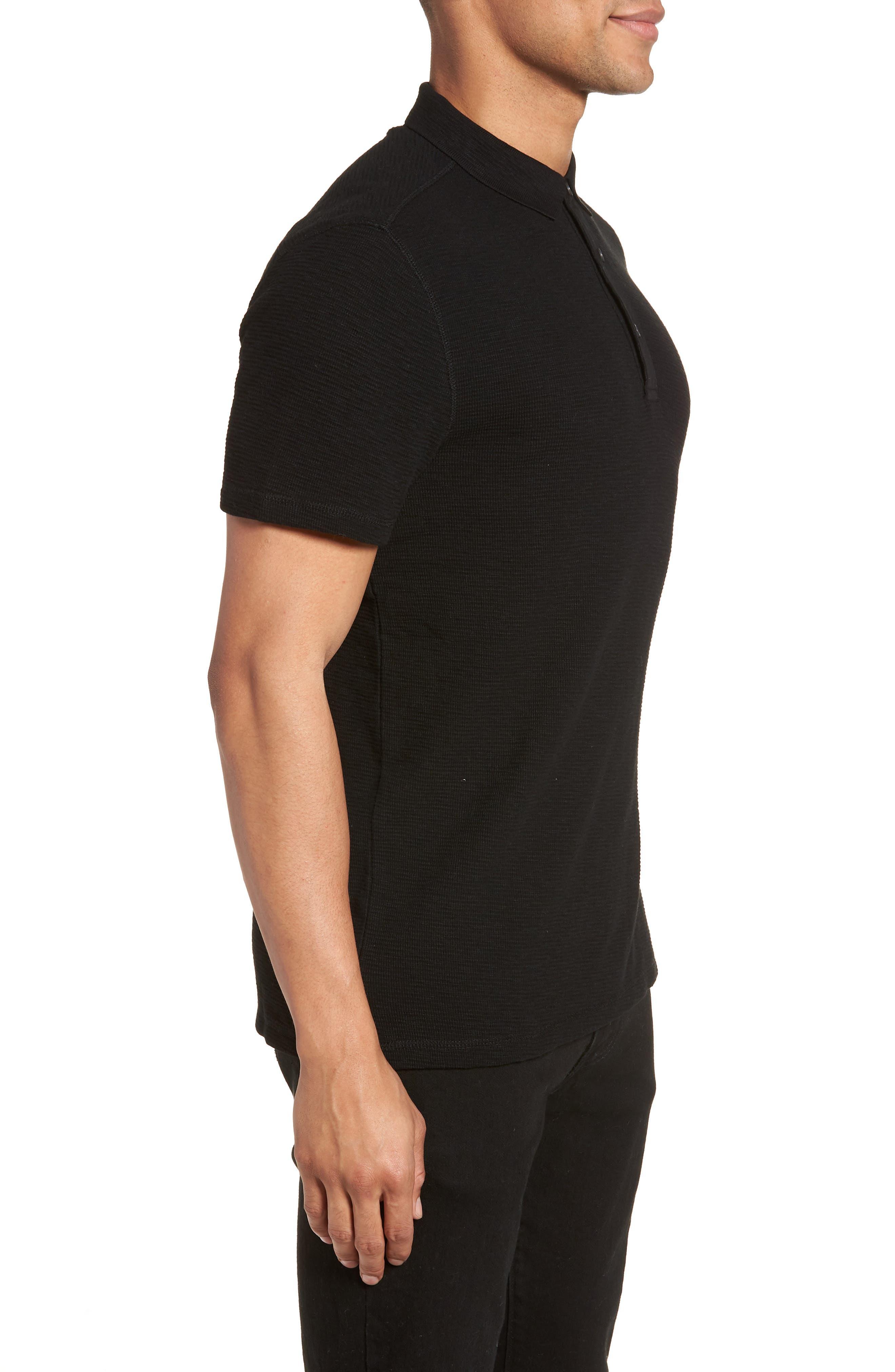 Clash Regular Fit Cotton Polo Shirt,                             Alternate thumbnail 3, color,                             003