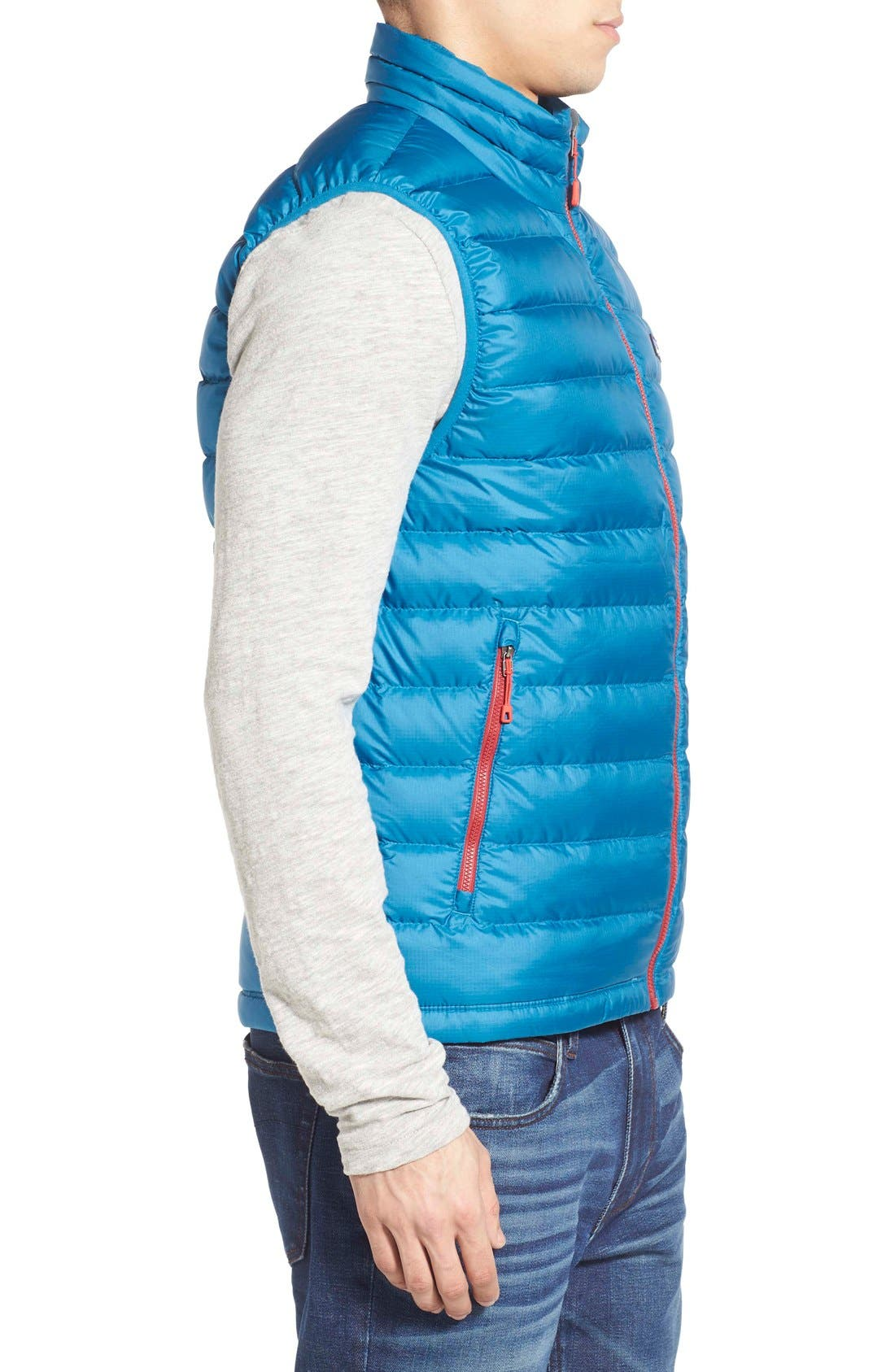 Windproof & Water Resistant 800 Fill Power Down Quilted Vest,                             Alternate thumbnail 26, color,