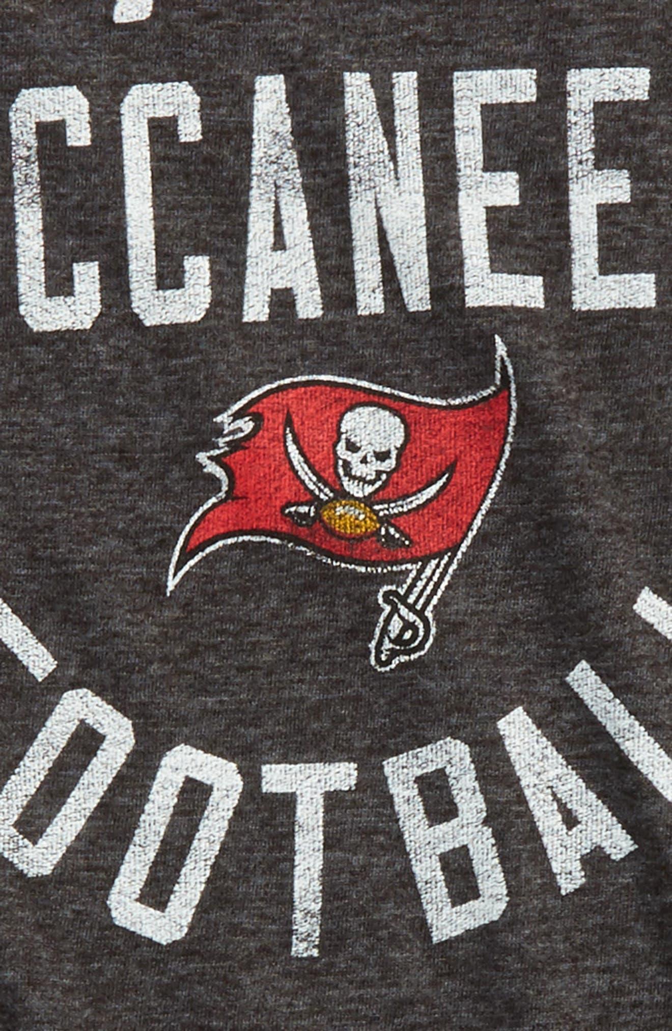 NFL Tampa Bay Buccaneers Distressed Logo T-Shirt,                             Alternate thumbnail 2, color,