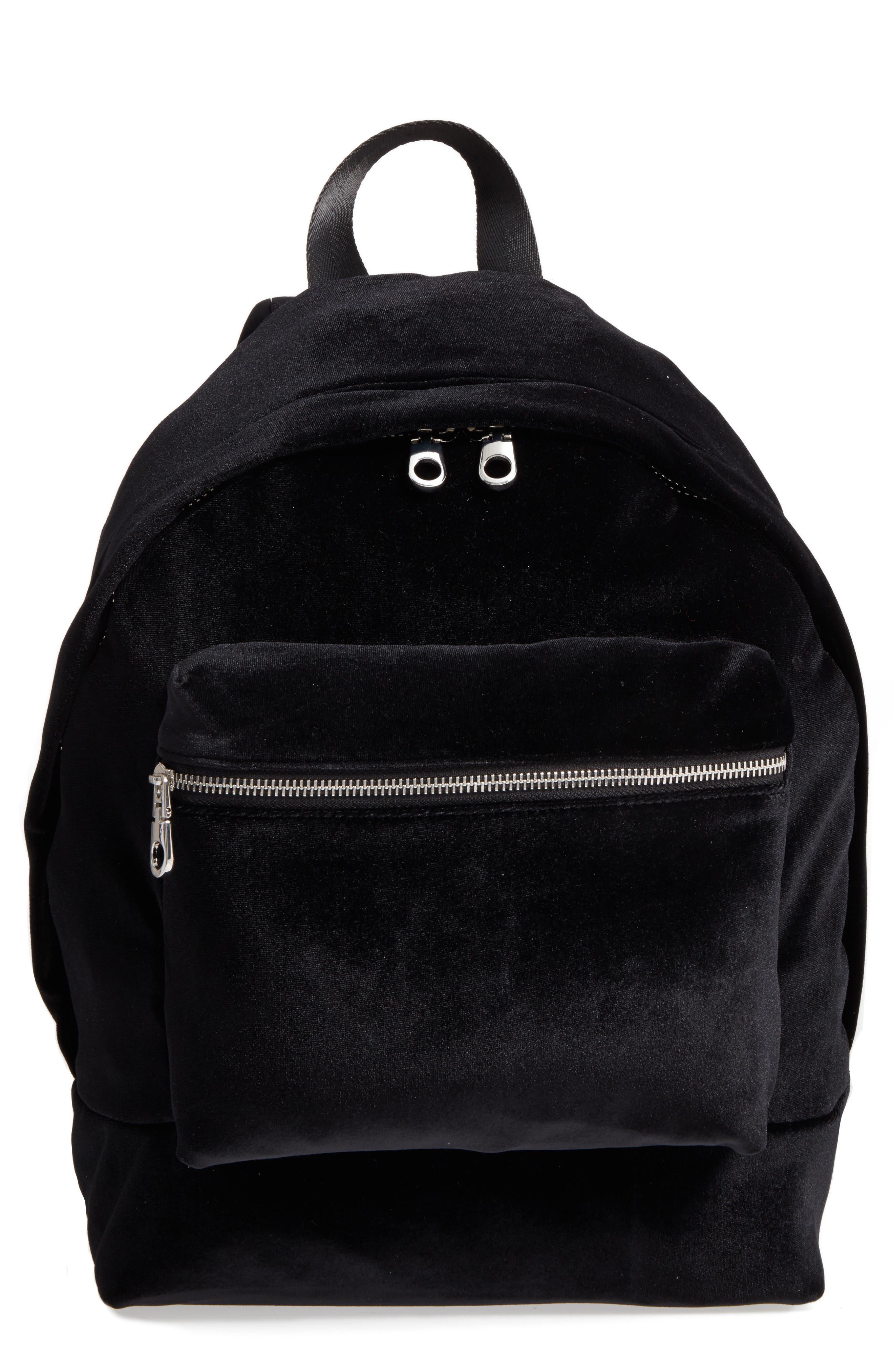Velvet Backpack,                         Main,                         color, 001