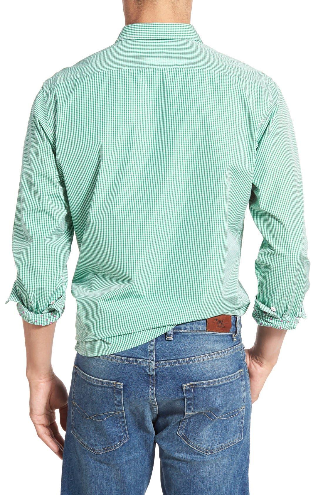 'Freeman' Sports Fit Check Sport Shirt,                             Alternate thumbnail 2, color,                             334