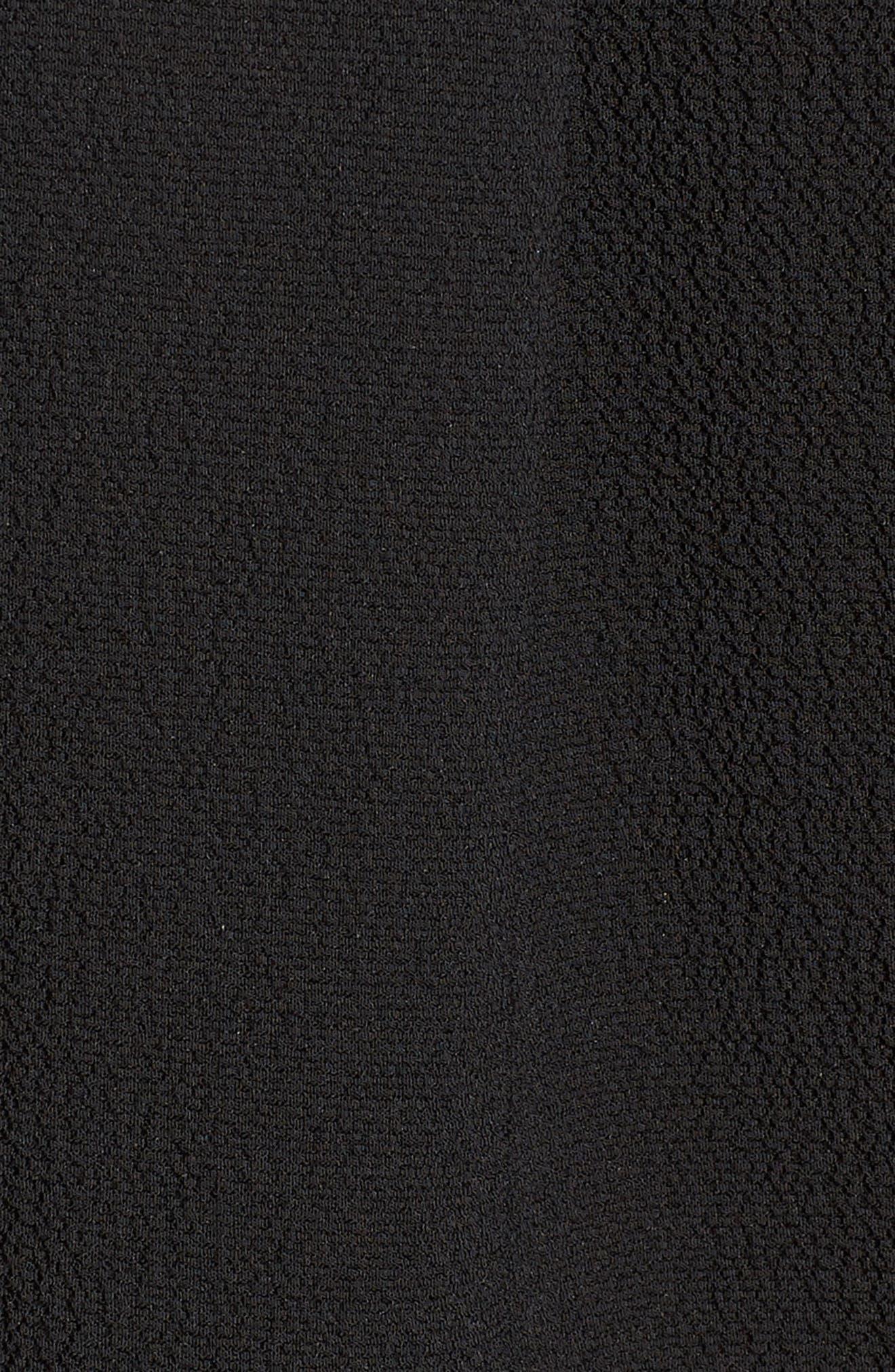 GIBSON, V-Neck Shell, Alternate thumbnail 5, color, BLACK