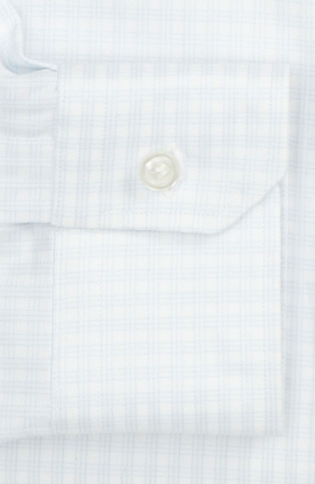 Traditional Fit Dress Shirt,                             Alternate thumbnail 2, color,                             100