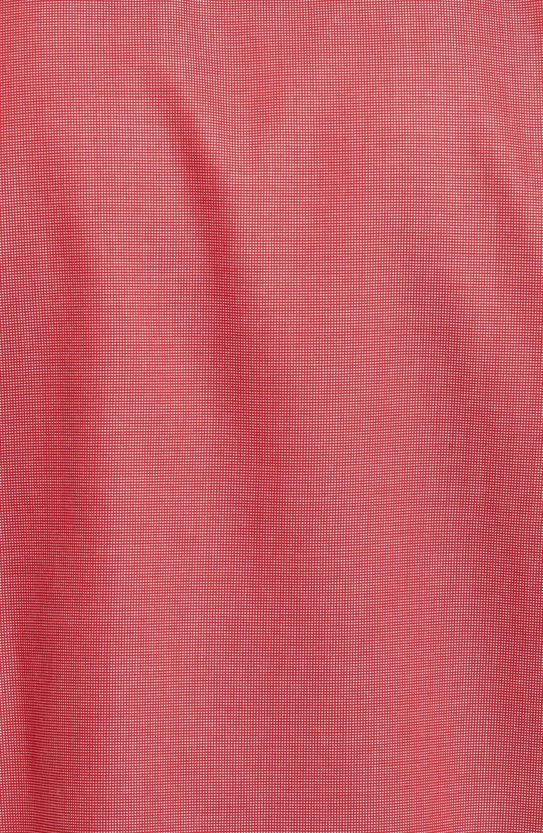 'Classic' Smartcare<sup>™</sup> Regular Fit Short Sleeve Cotton Sport Shirt,                             Alternate thumbnail 93, color,