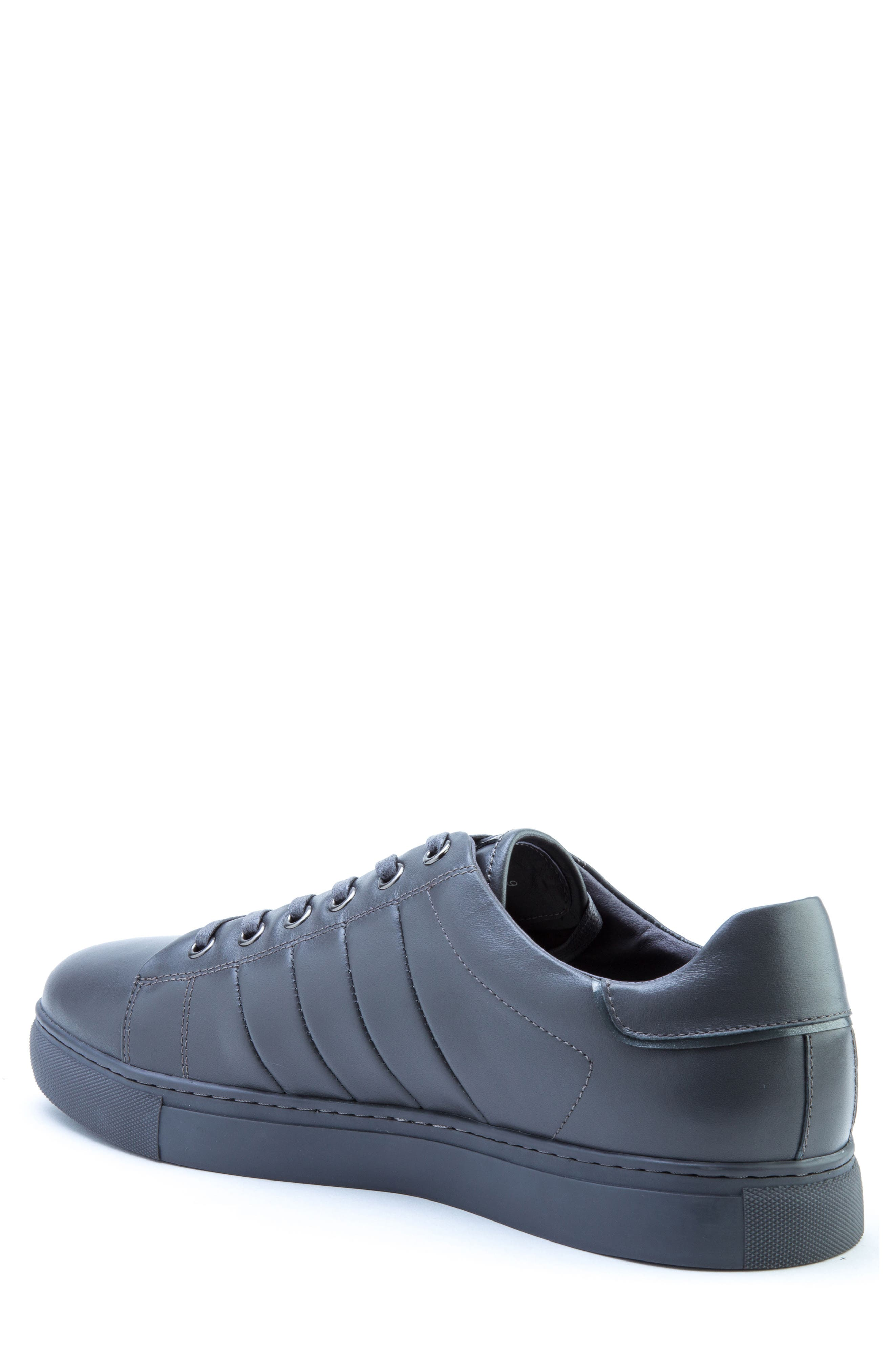Mitchell Sneaker,                             Alternate thumbnail 2, color,                             GREY LEATHER