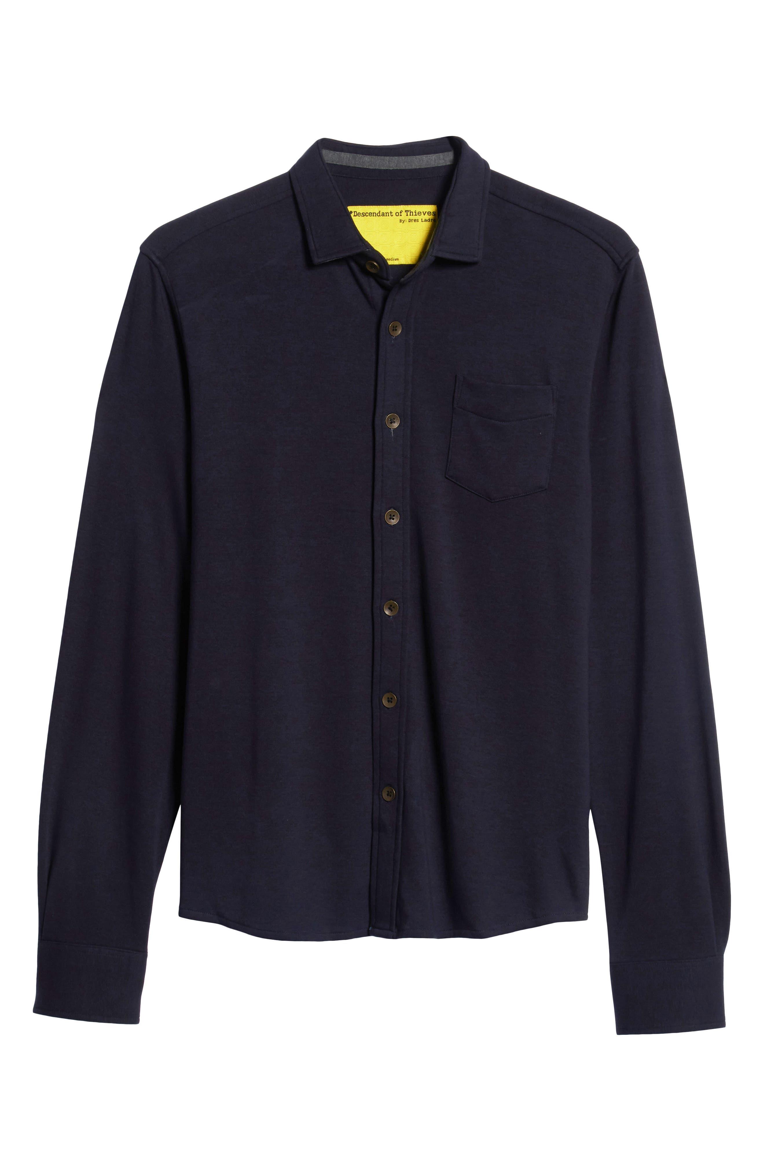 Shirt Killer Woven Shirt,                             Alternate thumbnail 5, color,                             NAVY