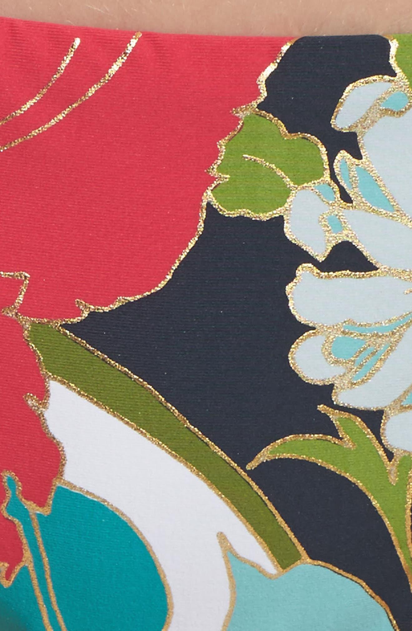 TRINA TURK,                             Royal Botanical Bikini Bottoms,                             Alternate thumbnail 5, color,                             400