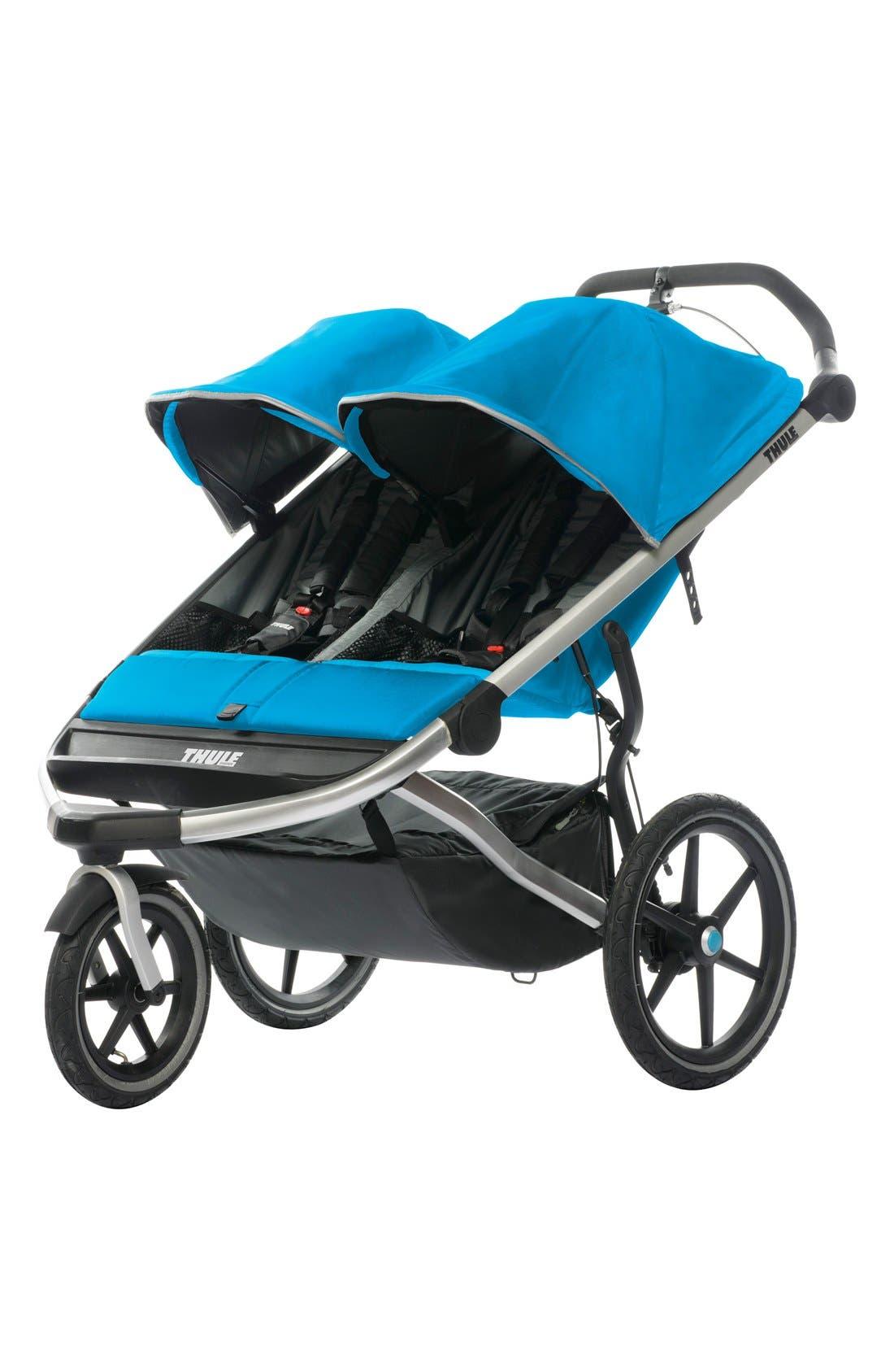 'Urban Glide 2' Double Jogging Stroller,                         Main,                         color, 400