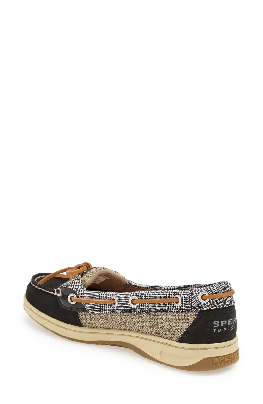 Top-Sider<sup>®</sup> 'Angelfish' Boat Shoe,                             Alternate thumbnail 2, color,                             001