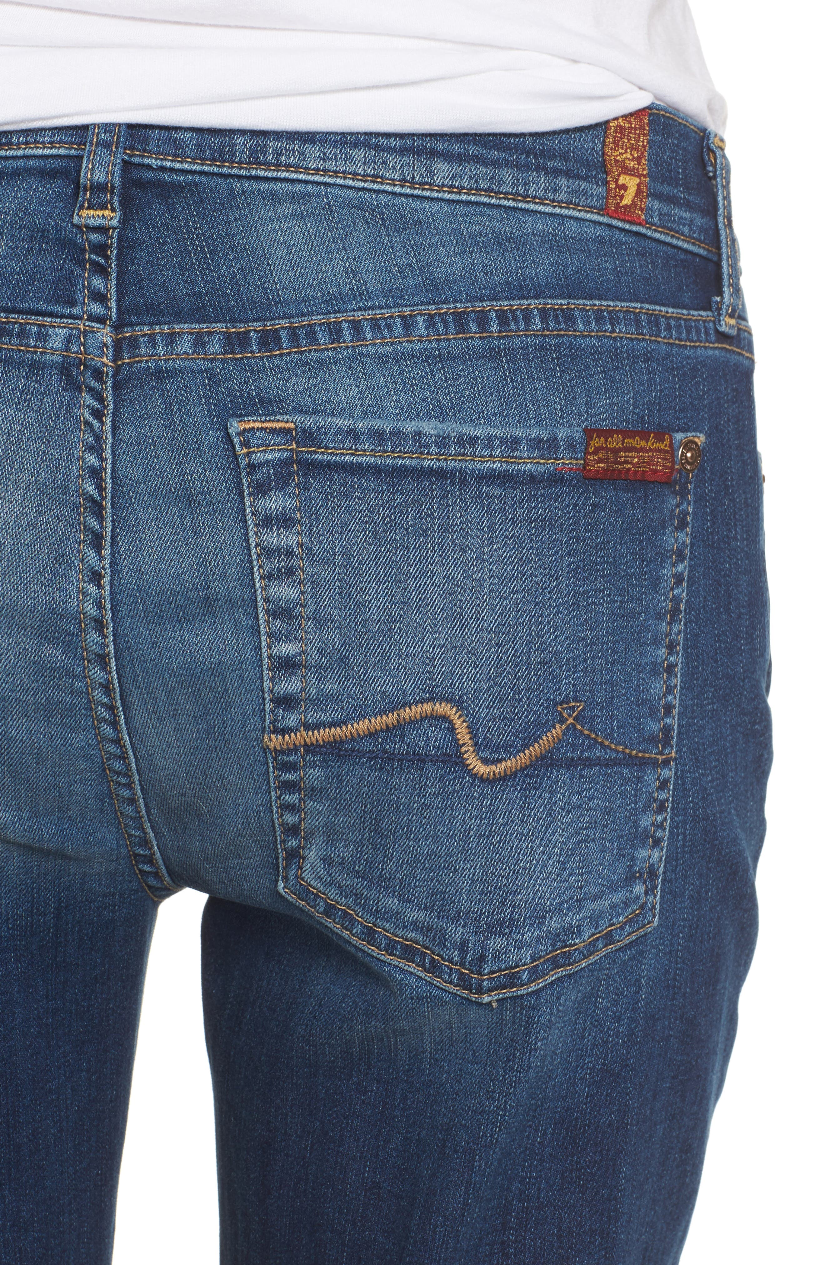 Josefina Destroyed Boyfriend Jeans,                             Alternate thumbnail 4, color,                             400