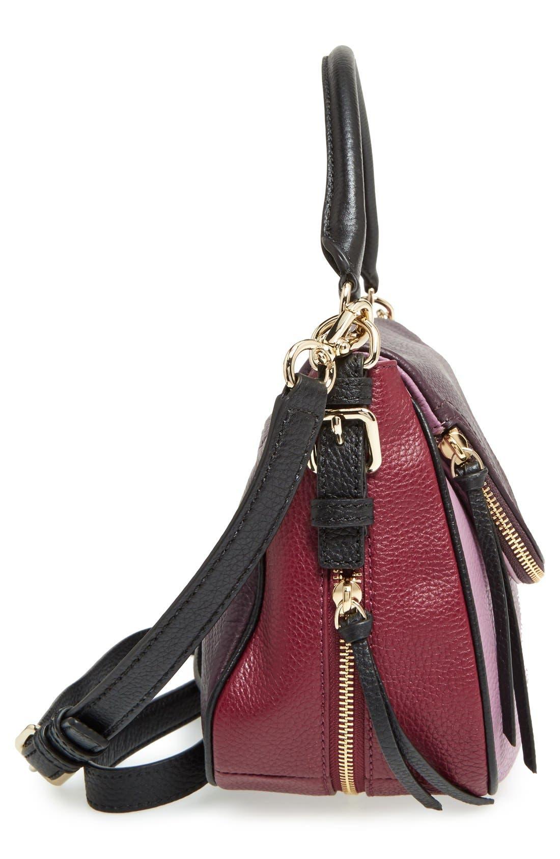 cobble hill - deva leather crossbody bag,                             Alternate thumbnail 37, color,