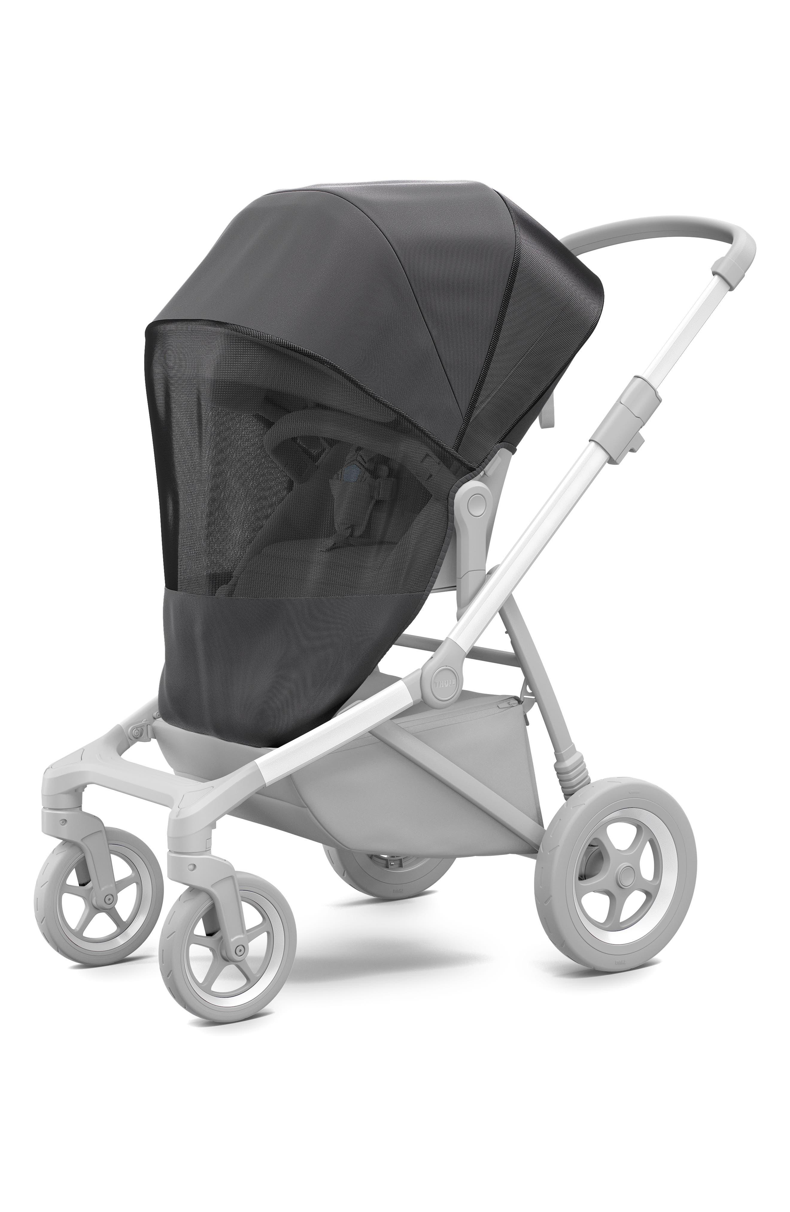 Mesh Cover for Thule Sleek Stroller,                         Main,                         color, BLACK