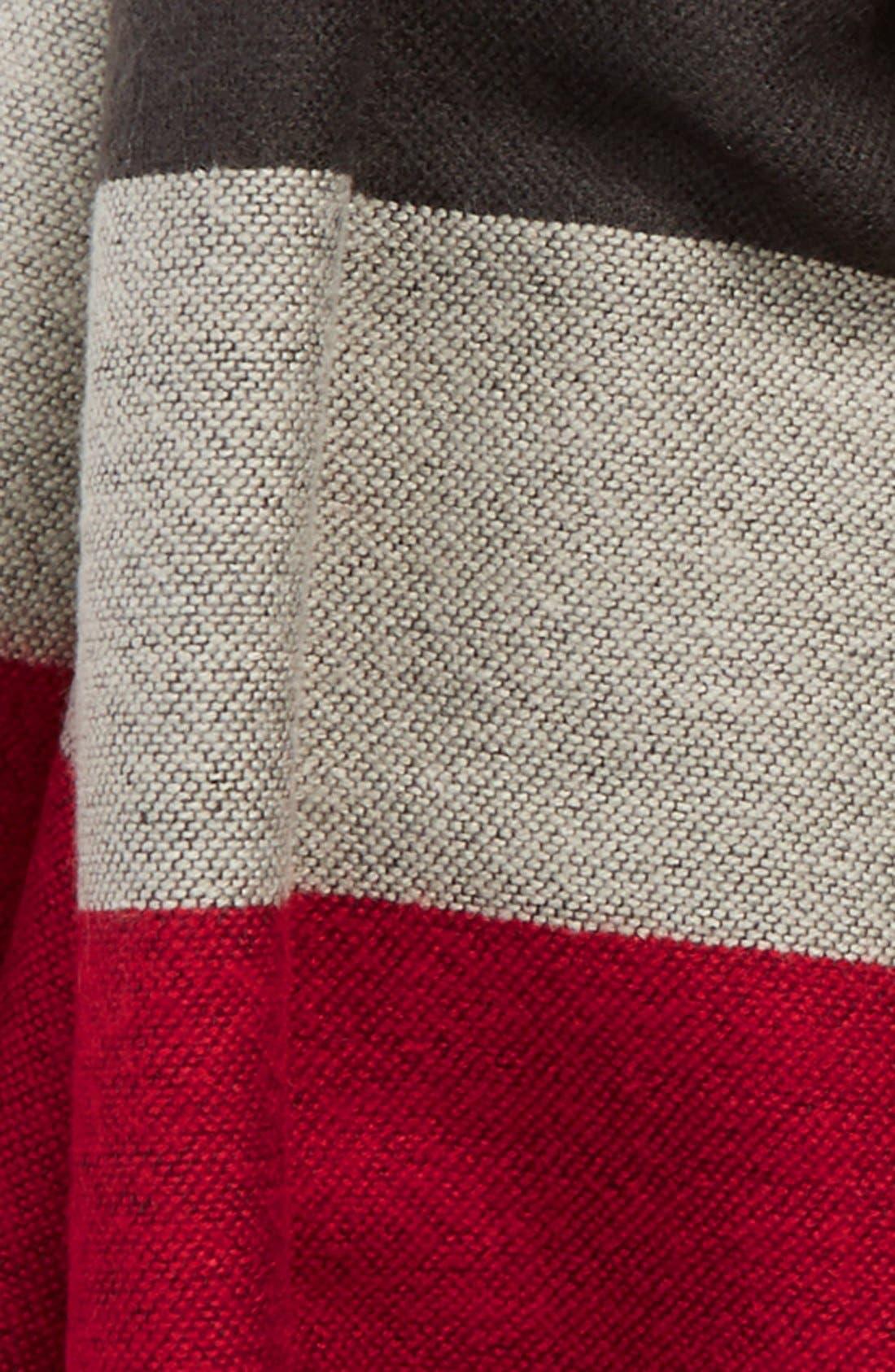 BlanketStripeScarf,                             Alternate thumbnail 2, color,                             611