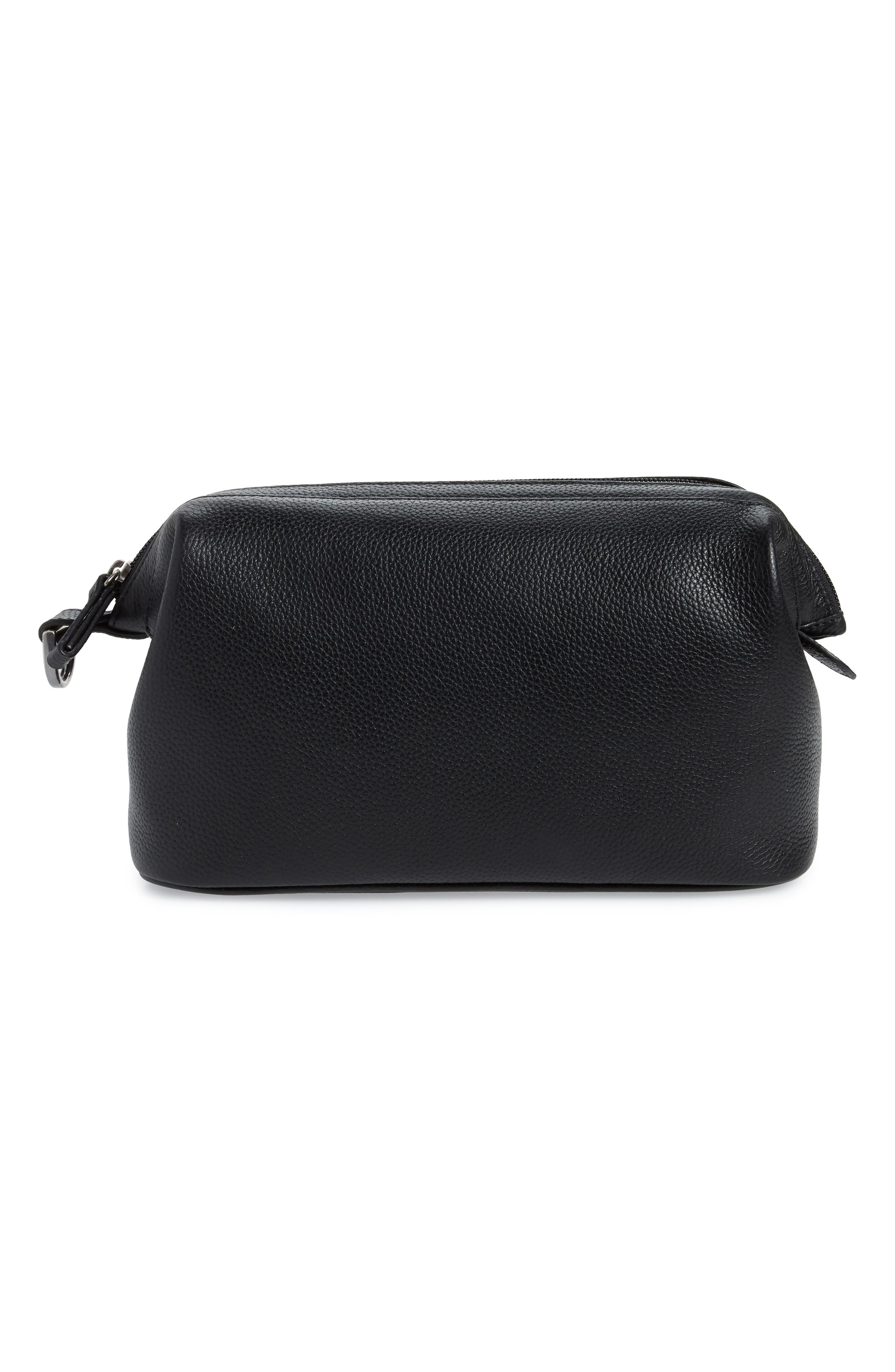 Midland Leather Dopp Kit,                         Main,                         color, BLACK