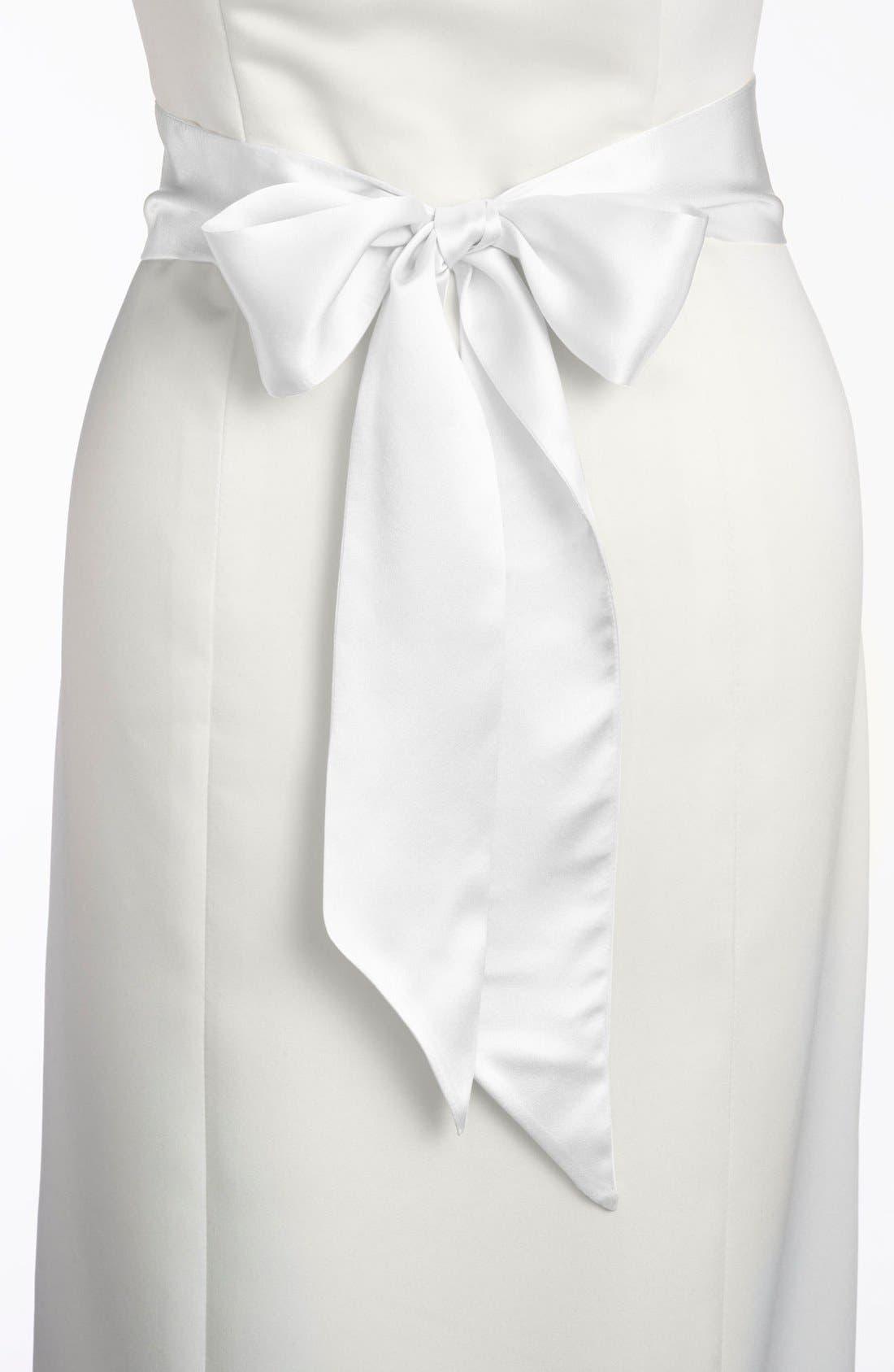 Silk Charmeuse Medium Sash,                             Alternate thumbnail 80, color,