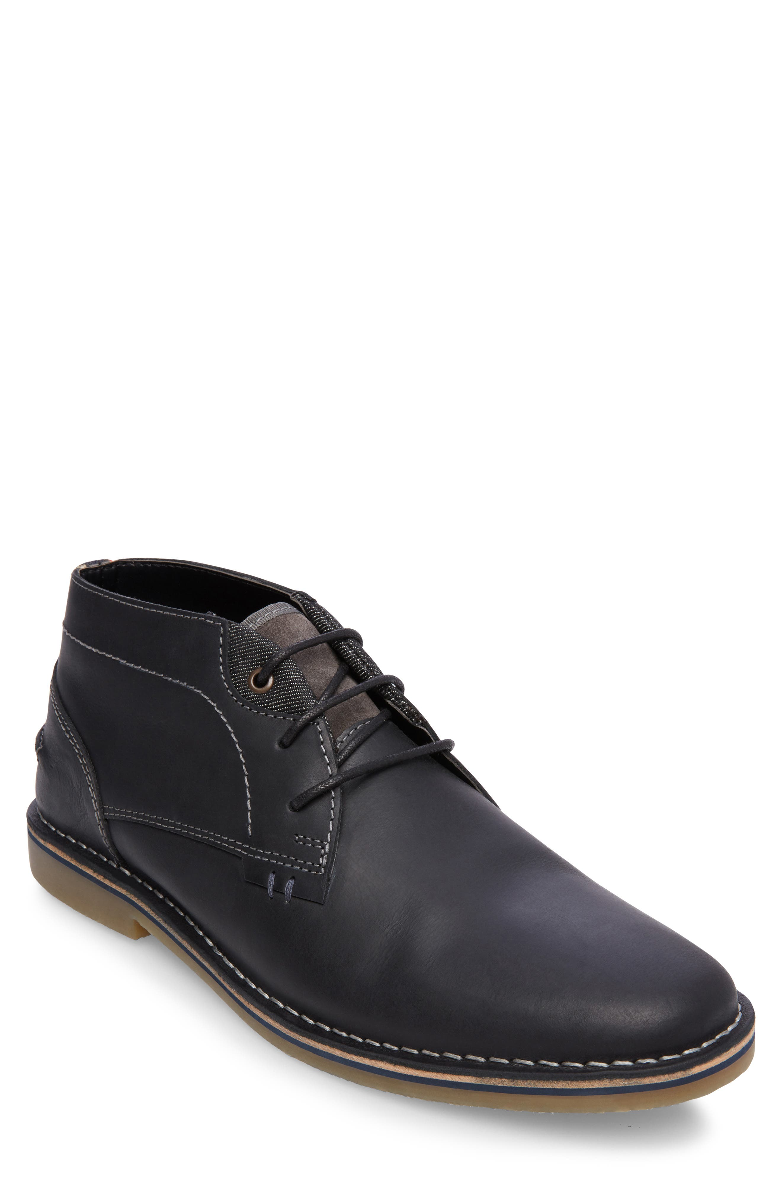 Steve Madden Hinton Chukka Boot- Black