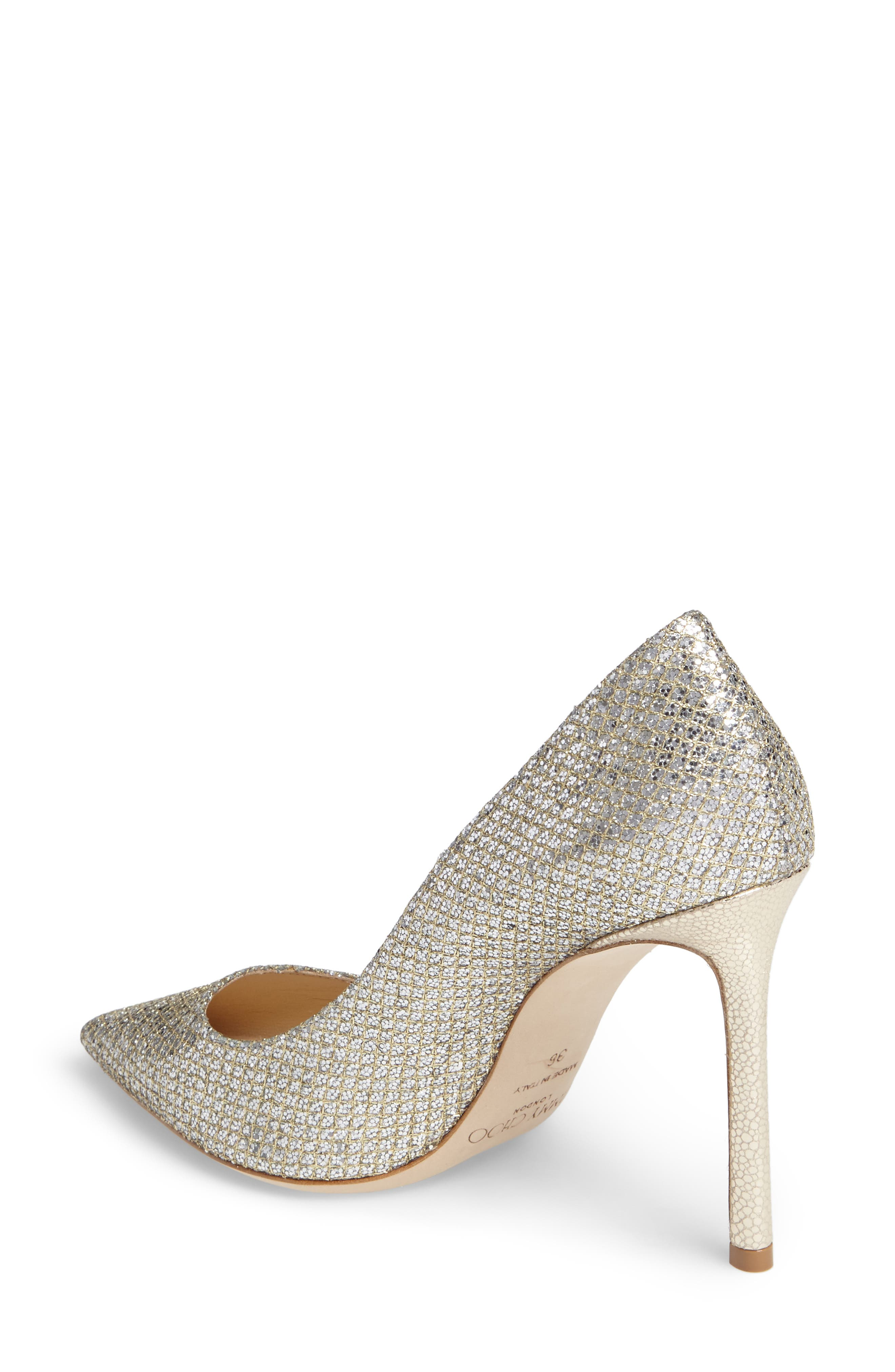 Romy Pointy Toe Pump,                             Alternate thumbnail 2, color,                             CHAMPAGNE