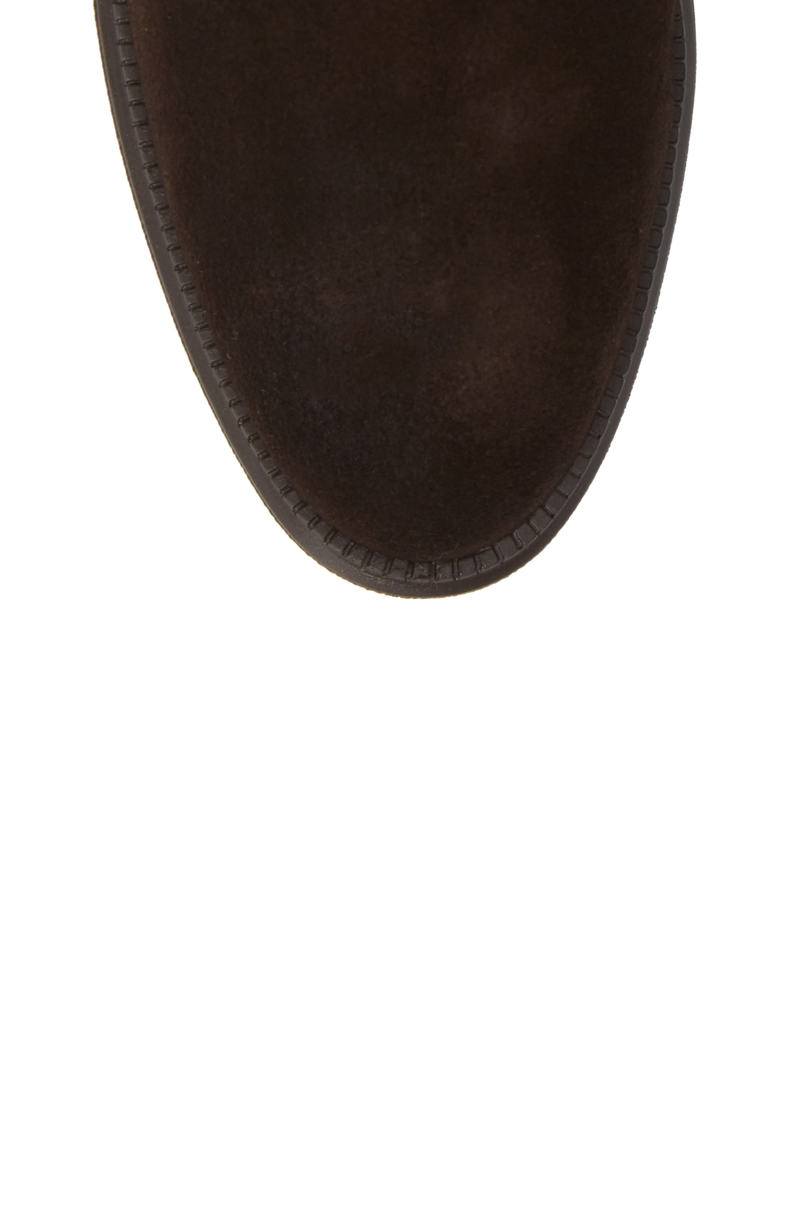 Campbell Wedge Boot,                             Alternate thumbnail 5, color,                             ESPRESSO SUEDE