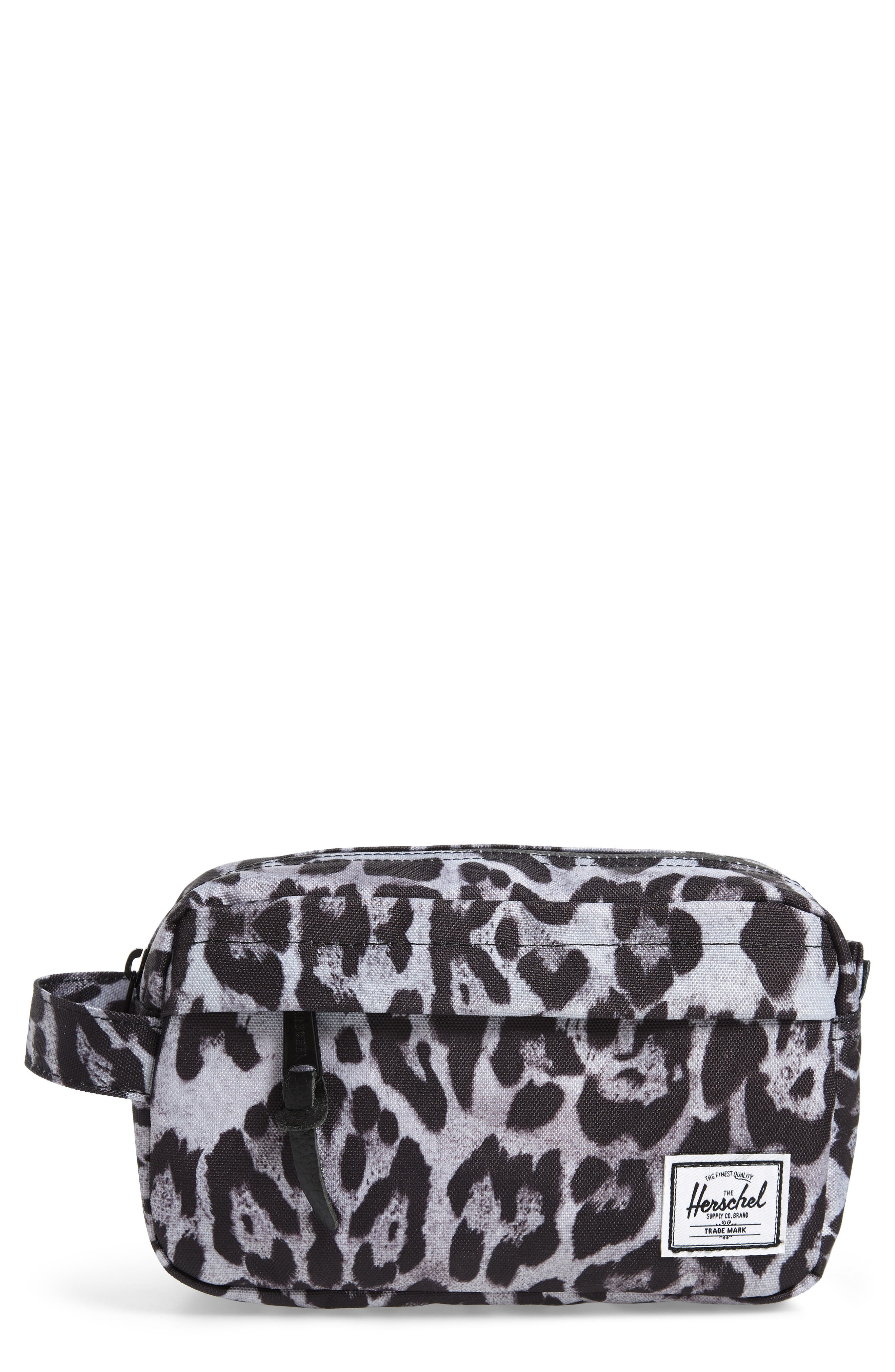Chapter Carry-On Travel Kit,                             Main thumbnail 1, color,                             SNOW LEOPARD