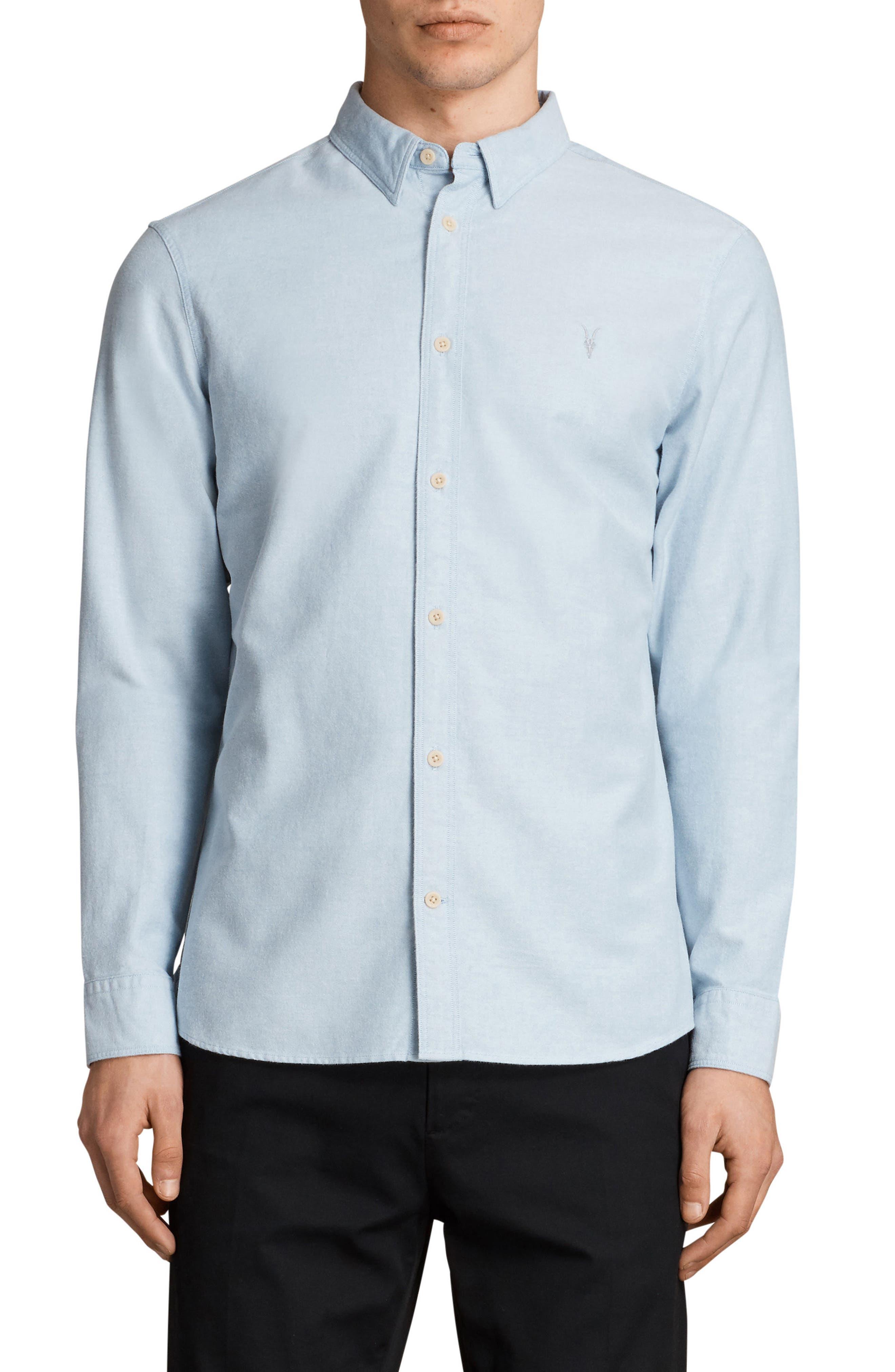 Huntington Regular Fit Sport Shirt,                             Main thumbnail 6, color,