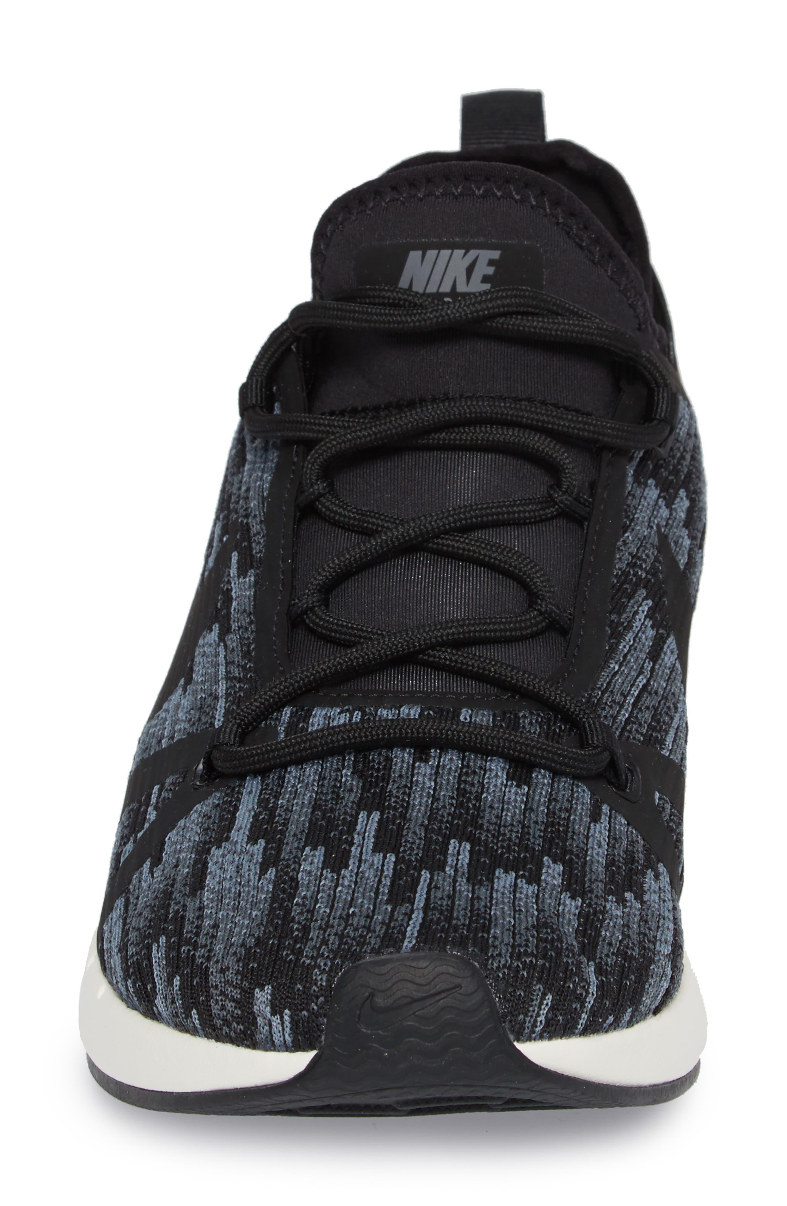 Duel Racer SE Knit Sneaker,                             Alternate thumbnail 4, color,                             020