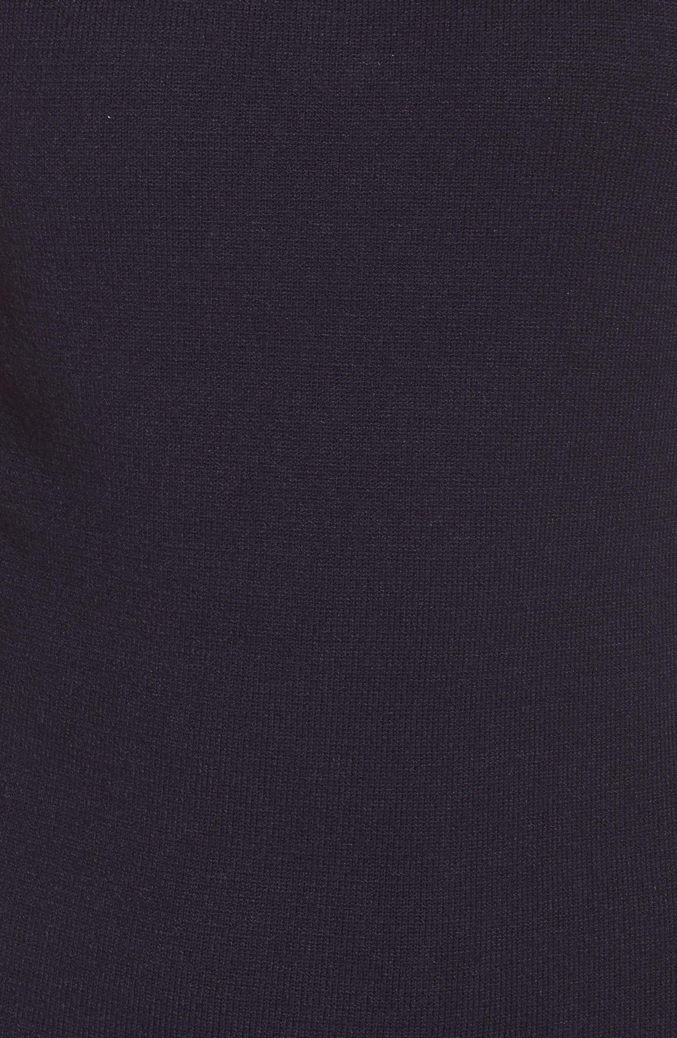 Peplum Hem Sweater Dress,                             Alternate thumbnail 5, color,                             410