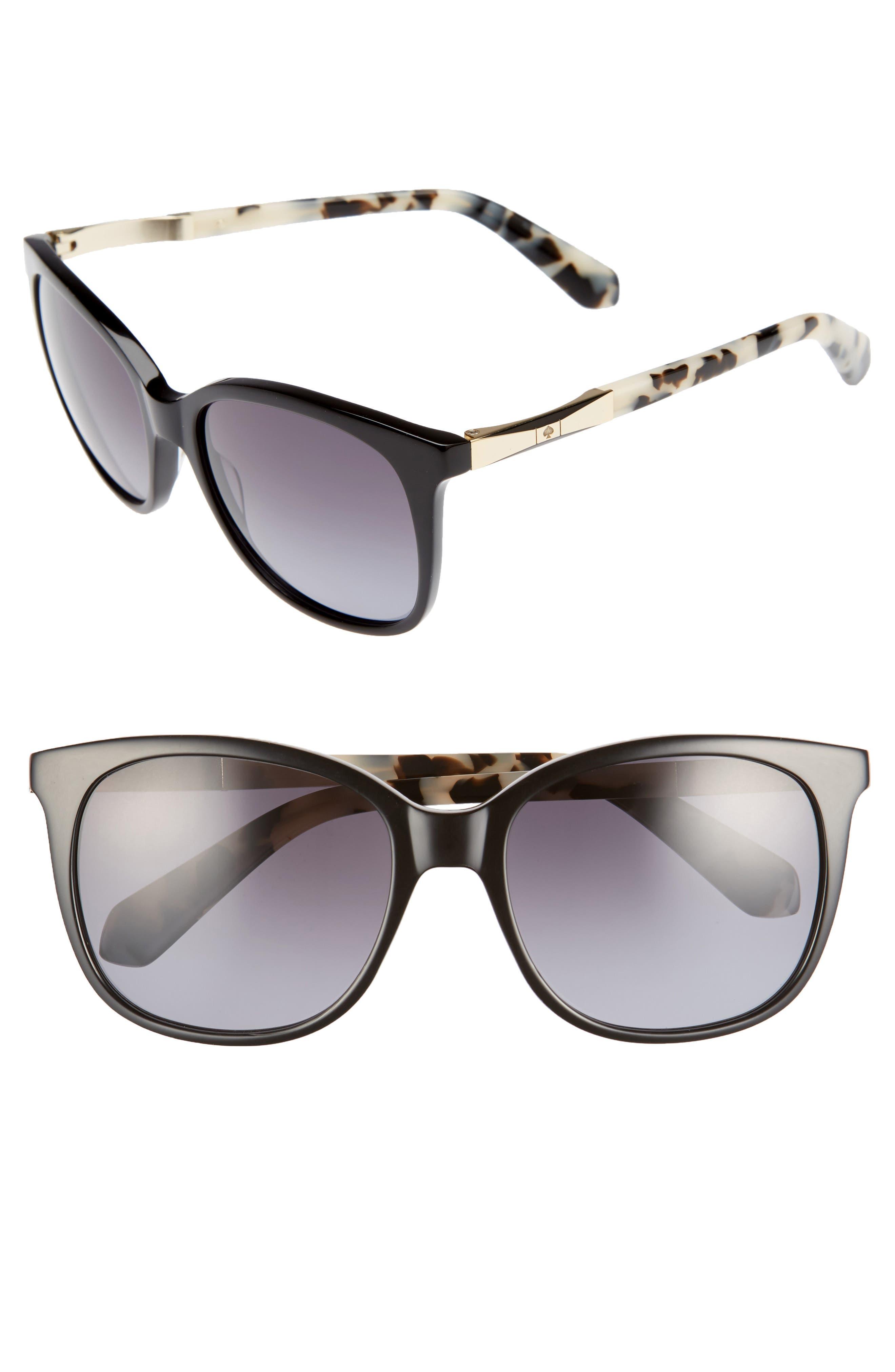 julieanna 54mm polarized sunglasses,                             Main thumbnail 1, color,                             001
