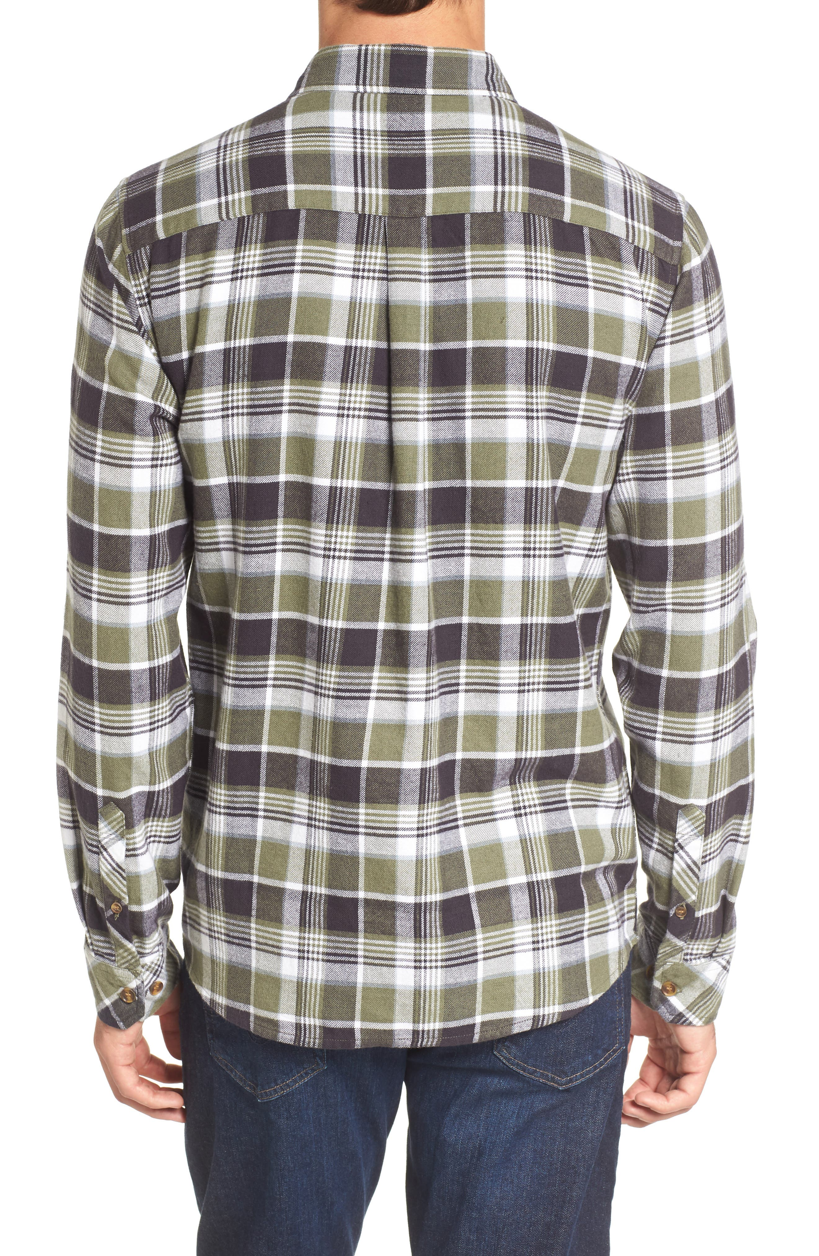 Redmond Regular Fit Plaid Flannel Shirt,                             Alternate thumbnail 2, color,                             301